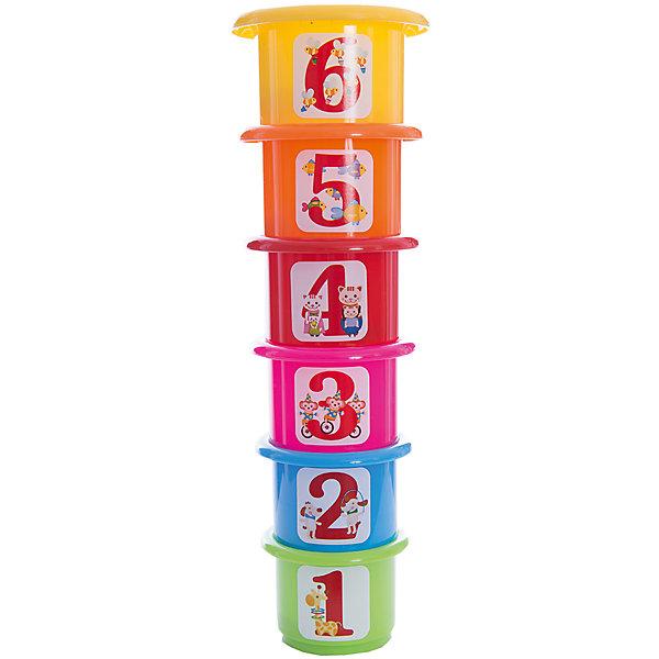Развивающая  пирамидка Считалочка, Стеллар-МРазвивающие игрушки<br>Характеристики товара:<br><br>• возраст: от 3 лет;<br>• материал: пластик;<br>• в комплекте: 6 стаканов, 21 геометрическая фигурка;<br>• размер упаковки: 12,5х19,5х10 см;<br>• вес упаковки: 250 гр.;<br>• страна производитель: Россия.<br><br>Развивающая пирамидка «Считалочка» Стеллар-М научит малышей цифрам, счету, геометрическим формам и цветам. В наборе представлены 6 стаканчиков с нарисованными цифрами от 1 до 6. Задача ребенка — разложить все фигурки в стаканчики подходящего цвета. Игрушка способствует развитию логического мышления, внимательности.<br><br>Развивающую пирамидку «Считалочка» Стеллар-М можно приобрести в нашем интернет-магазине.<br>Ширина мм: 125; Глубина мм: 100; Высота мм: 195; Вес г: 250; Возраст от месяцев: 36; Возраст до месяцев: 2147483647; Пол: Унисекс; Возраст: Детский; SKU: 6883634;