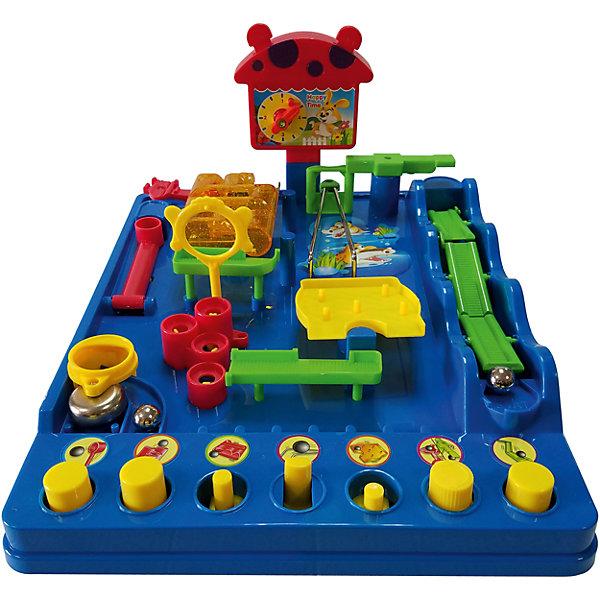 Игра Приключения шарика, Icoy ToysНастольные игры для всей семьи<br><br>Ширина мм: 270; Глубина мм: 340; Высота мм: 100; Вес г: 1017; Возраст от месяцев: 36; Возраст до месяцев: 168; Пол: Унисекс; Возраст: Детский; SKU: 6883974;