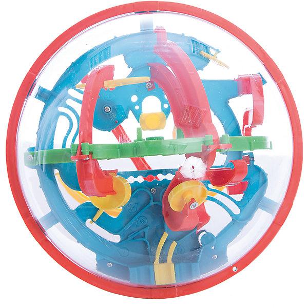 Игрушка-головоломка Шар-лабиринт 100 шагов, Icoy ToysОбъёмные головоломки<br>Характеристики товара:<br><br>• возраст: от 6 лет;<br>• материал: пластик;<br>• размер упаковки: 19,5х18х17,5 см;<br>• вес упаковки: 371 гр.;<br>• страна производитель: Китай.<br><br>Игрушка-головоломка «Шар-лабиринт» 100 шагов Icoy Toys — увлекательная развивающая игрушка. Она выполнена в виде шара, внутри которого расположен лабиринт с 100 препятствиями. Задача игрока — провести шарик внутри лабиринта до конца. Игрушка развивает логическое мышление, интеллект, внимательность.<br><br>Игрушку-головоломку «Шар-лабиринт» 100 шагов Icoy Toys можно приобрести в нашем интернет-магазине.<br><br>Ширина мм: 195<br>Глубина мм: 180<br>Высота мм: 175<br>Вес г: 371<br>Возраст от месяцев: 36<br>Возраст до месяцев: 168<br>Пол: Унисекс<br>Возраст: Детский<br>SKU: 6883976