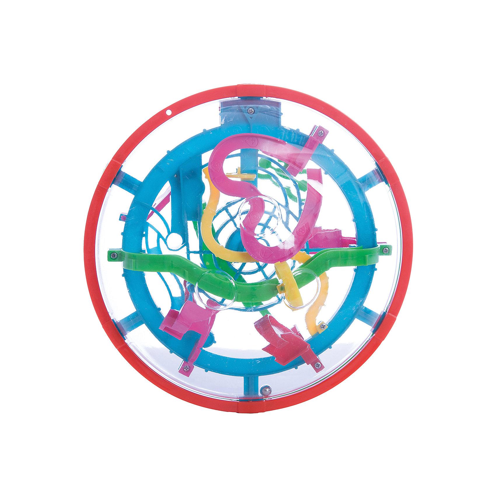Игрушка-головоломка Шар-лабиринт, 99 шагов, Icoy ToysОбъёмные головоломки<br>Характеристики товара:<br><br>• возраст: от 6 лет;<br>• материал: пластик;<br>• размер упаковки: 19,5х20х12 см;<br>• вес упаковки: 356 гр.;<br>• страна производитель: Китай.<br><br>Игрушка-головоломка «Шар-лабиринт» 99 шагов Icoy Toys — увлекательная развивающая игрушка. Она выполнена в виде шара, внутри которого расположен лабиринт с 99 препятствиями. Задача игрока — провести шарик внутри лабиринта до конца. Игрушка развивает логическое мышление, интеллект, внимательность.<br><br>Игрушку-головоломку «Шар-лабиринт» 99 шагов Icoy Toys можно приобрести в нашем интернет-магазине.<br><br>Ширина мм: 195<br>Глубина мм: 200<br>Высота мм: 120<br>Вес г: 356<br>Возраст от месяцев: 36<br>Возраст до месяцев: 168<br>Пол: Унисекс<br>Возраст: Детский<br>SKU: 6883977