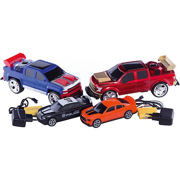 Набор Боевые машины, со световыми и звуковыми эффектами, BlueSeaРадиоуправляемые машины<br>Характеристики товара:<br><br>• возраст: от 6 лет;<br>• материал: пластик, металл;<br>• в комплекте: 2 машины, 2 пульта, зарядное устройство;<br>• тип батареек: 3 батарейки АА;<br>• наличие батареек: в комплект не входят;<br>• размер упаковки: 54х26х13 см;<br>• вес упаковки: 1,3 кг;<br>• страна производитель: Китай.<br><br>Набор «Боевые машины» BlueSea со световыми и звуковыми эффектами — набор из 2 радиоуправляемых машинок. Они управляются каждая при помощи своего пульта управления и могут ездить в разных направлениях. Машинки оснащены световыми и звуковыми эффектами: у них горят фары, подсветка внутри корпуса, а при движении слышен звук мотора. С помощью машинок можно устроить захватывающие гонки, а также сражение, в котором победит машинка, которая перевернет другую.<br><br>Набор «Боевые машины» BlueSea со световыми и звуковыми эффектами можно приобрести в нашем интернет-магазине.<br><br>Ширина мм: 820<br>Глубина мм: 560<br>Высота мм: 570<br>Вес г: 1300<br>Возраст от месяцев: 36<br>Возраст до месяцев: 168<br>Пол: Унисекс<br>Возраст: Детский<br>SKU: 6883992