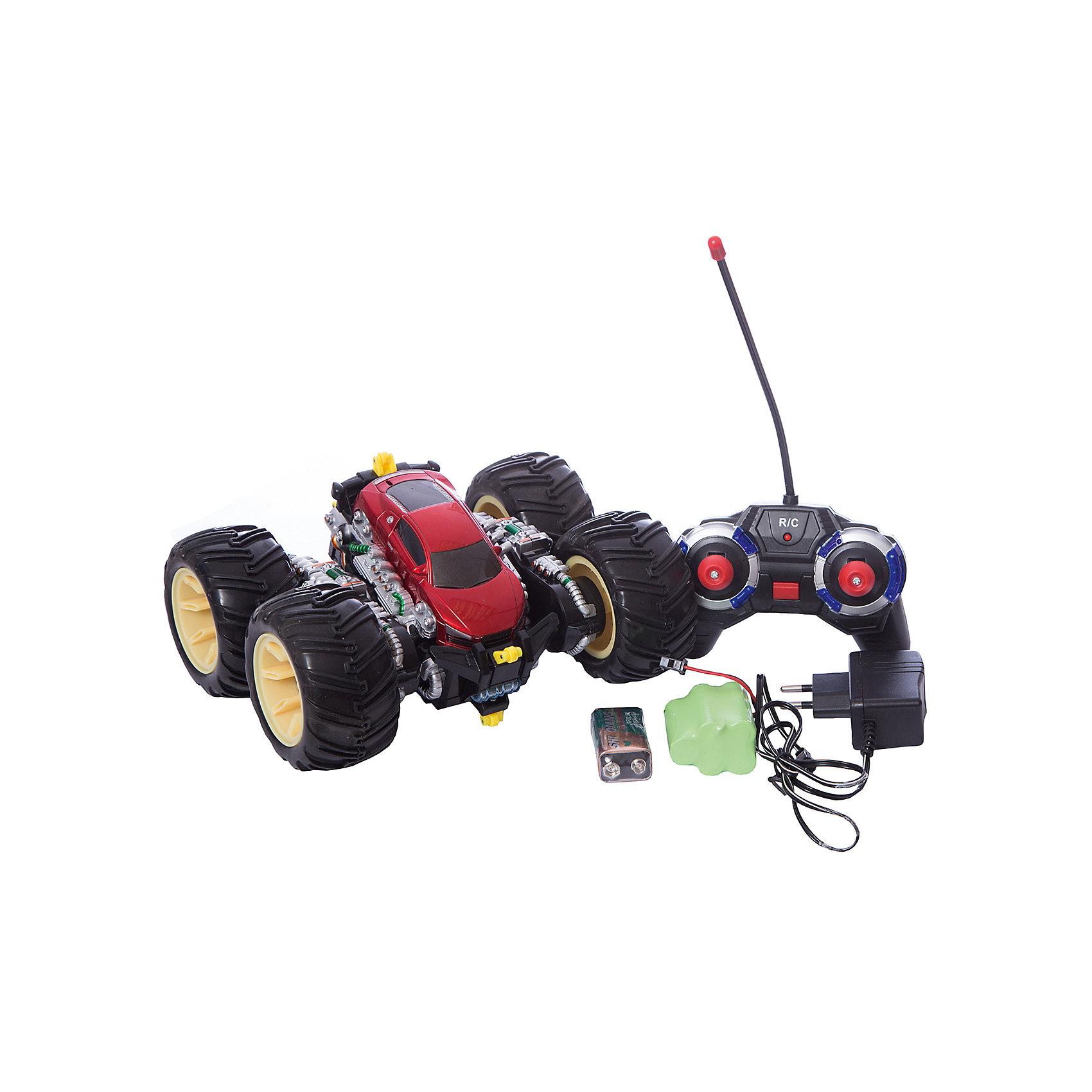 Радиоуправляемая машинка трюковая, черно-красная, ZCРадиоуправляемый транспорт<br><br><br>Ширина мм: 850<br>Глубина мм: 360<br>Высота мм: 780<br>Вес г: 1120<br>Возраст от месяцев: 36<br>Возраст до месяцев: 168<br>Пол: Унисекс<br>Возраст: Детский<br>SKU: 6884001