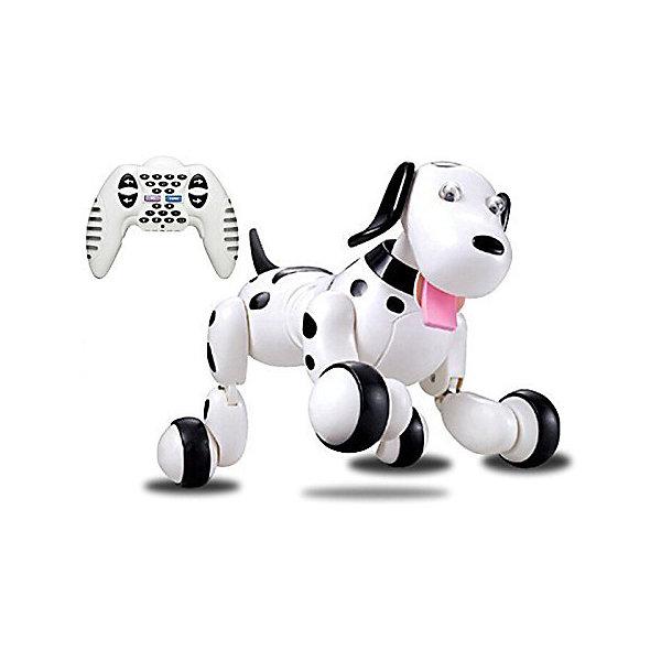 Робот SMART-DOG, с дистанциооным управлением, Happy cowРоботы<br><br><br>Ширина мм: 715<br>Глубина мм: 355<br>Высота мм: 540<br>Вес г: 1100<br>Возраст от месяцев: 36<br>Возраст до месяцев: 168<br>Пол: Унисекс<br>Возраст: Детский<br>SKU: 6884008