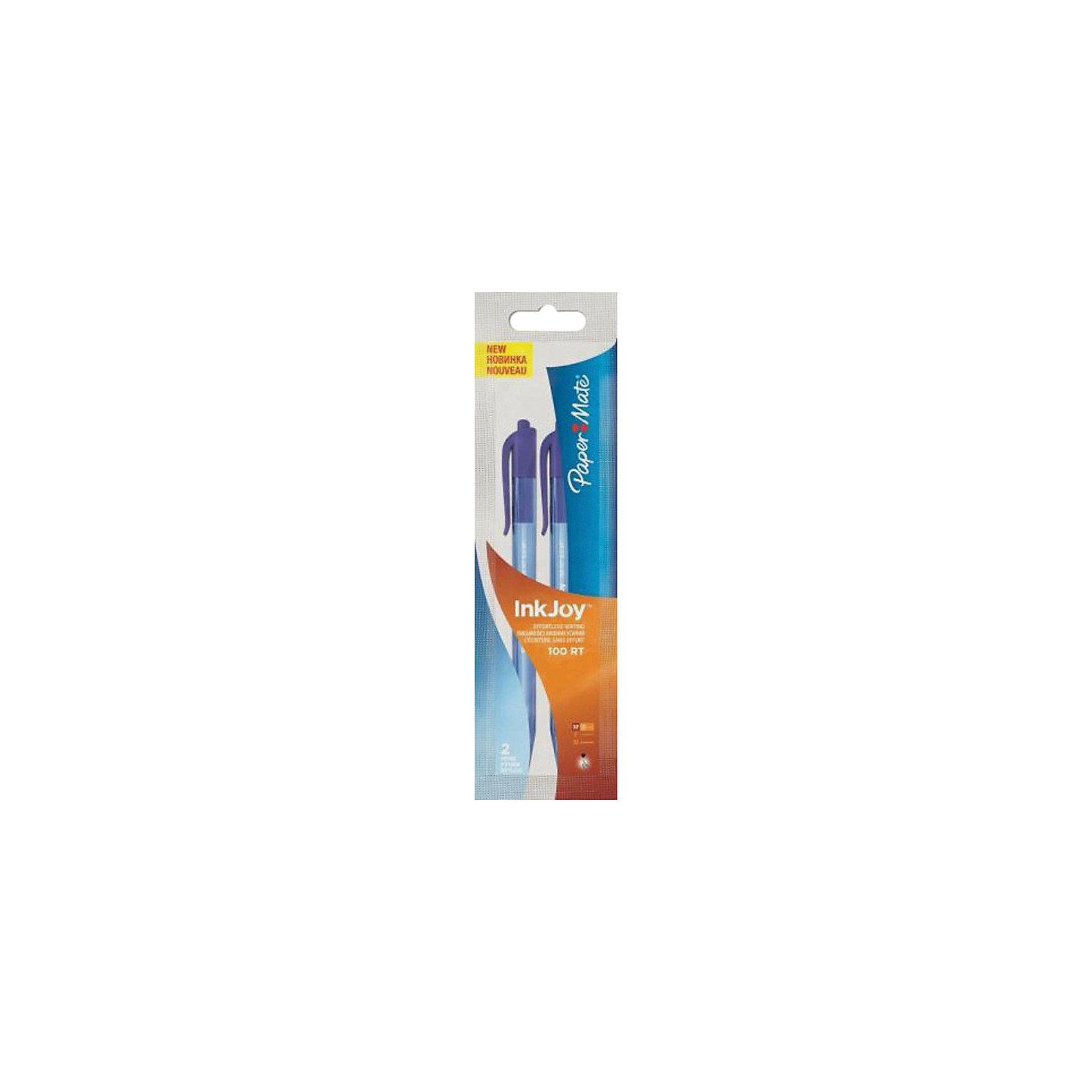 Ручка шариковая Paper mate Inkjoy, синяяПисьменные принадлежности<br>Характеристики товара:<br><br>• тип ручки: шариковая;<br>• кнопочный механизм;<br>• цвет чернил: синий;<br>• толщина линии: 0,5 мм;<br>• размер упаковки: 1х3х17 см;<br>• вес: 15 грамм;<br>• возраст: от 3 лет.<br><br>С шариковой ручкой INK JOY гарантировано комфортное и качественное письмо. Ручка не требует расписывания, пишет без пропусков и пробелов. Чернила равномерно ложатся на поверхность, оставляя мягкие аккуратные линии, которые быстро высыхают.<br><br>PAPER MATE (Пэйпер Мэйт) Ручку шариковую  INK JOY можно купить в нашем интернет-магазине.<br><br>Ширина мм: 170<br>Глубина мм: 30<br>Высота мм: 10<br>Вес г: 15<br>Возраст от месяцев: 36<br>Возраст до месяцев: 2147483647<br>Пол: Унисекс<br>Возраст: Детский<br>SKU: 6884879