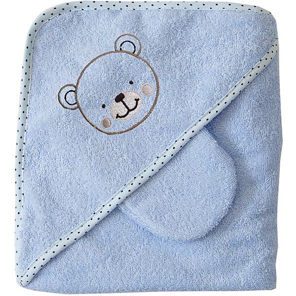 Махровое полотенце с уголком, 75х75см., Baby Nice, голубойПолотенца для новорождённых с уголком<br>Характеристики:<br><br>• комплект состоит из полотенца с уголком, варежки для мытья и 2-х салфеток;<br>• размер полотенца: 75х75 см;<br>• материал: 100% хлопок;<br>• специальная обработка махровой ткани обеспечивает высокую степень впитывания влаги после купания;<br>• ткань мягкая и пушистая;<br>• аппликация в виде медвежонка;<br>• размер упаковки: 25х25х5 см;<br>• вес: 200 г.<br><br>Махровое полотенце с уголком, 75х75 см., Baby Nice, цвет голубой можно купить в нашем интернет-магазине.<br>Ширина мм: 250; Глубина мм: 250; Высота мм: 50; Вес г: 200; Возраст от месяцев: 0; Возраст до месяцев: 12; Пол: Унисекс; Возраст: Детский; SKU: 6885015;