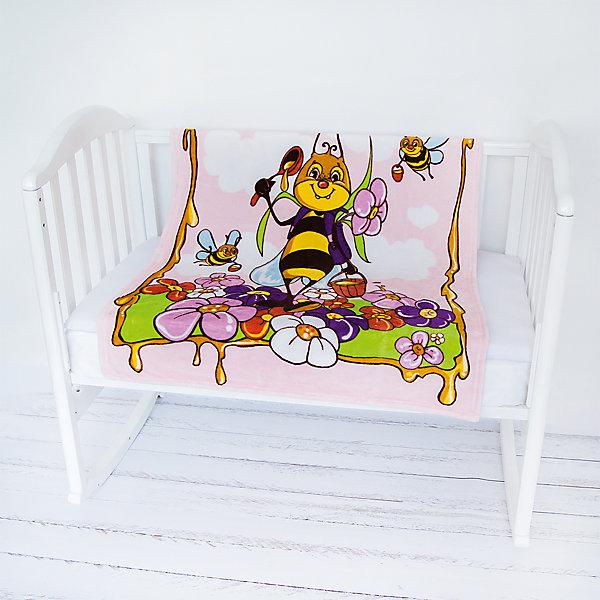 Плед- покрывало Micro Flannel, 100х118 см., Baby Nice, пчелы/розовыйПледы для новорождённых<br>Характеристики:<br><br>• бархатистый материал пледа, напоминает плюшевую игрушку (по мягкости);<br>• влагорегулирующие и терморегулирующие свойства ткани;<br>• поддержка температурного баланса;<br>• сохранение тепла;<br>• гипоаллергенность материалов;<br>• антипиллинговые свойства;<br>• ткань не впитывает посторонние запахи;<br>• декор: рисунки 3D;<br>• размер пледа: 100х118 см;<br>• размер упаковки: 20х15х2 см;<br>• вес: 250 г.<br><br>Плед- покрывало Micro Flannel, 100х118 см., Baby Nice, пчелы/розовый можно купить в нашем интернет-магазине.<br><br>Ширина мм: 200<br>Глубина мм: 150<br>Высота мм: 20<br>Вес г: 250<br>Возраст от месяцев: 0<br>Возраст до месяцев: 12<br>Пол: Унисекс<br>Возраст: Детский<br>SKU: 6885020