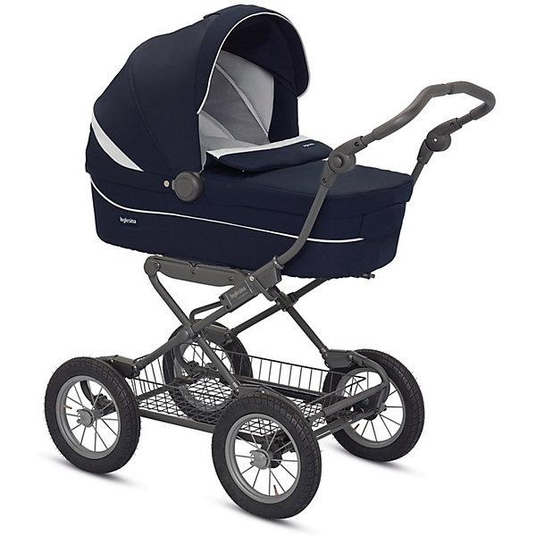 Коляска-люлька Inglesina Sofia, Marina, на шасси Ergobike SlateКоляски для новорожденных<br>Характеристики коляски<br><br>Люлька:<br><br>• жесткое дно люльки;<br>• регулируемый подголовник;<br>• сетчатые вставки на капюшоне, отверстия для циркуляции воздуха на дне люльки;<br>• съемная обивка, стирка при температуре 30 градусов;<br>• люлька оснащена ручкой для переноски;<br>• система Easy Clip – легко снимать и устанавливать люльку на шасси;<br>• размер люльки: 75х33х18 см;<br>• размер коляски: 105х57х102,5 см;<br>• вес коляски с люлькой: 16,3 кг.<br><br>Рама коляски:<br><br>• система амортизации;<br>• надувные колеса, высокая проходимость коляски;<br>• тип тормоза: ножной;<br>• механизм, препятствующий случайному складыванию шасси;<br>• тип складывания: книжка;<br>• ширина рамы: 57 см;<br>• материал: алюминий. <br><br>Коляску-люльку Inglesina Sofia, Marina, на шасси Ergobike Slate можно купить в нашем интернет-магазине.<br><br>Ширина мм: 1440<br>Глубина мм: 570<br>Высота мм: 1390<br>Вес г: 20650<br>Возраст от месяцев: 0<br>Возраст до месяцев: 6<br>Пол: Унисекс<br>Возраст: Детский<br>SKU: 6886044