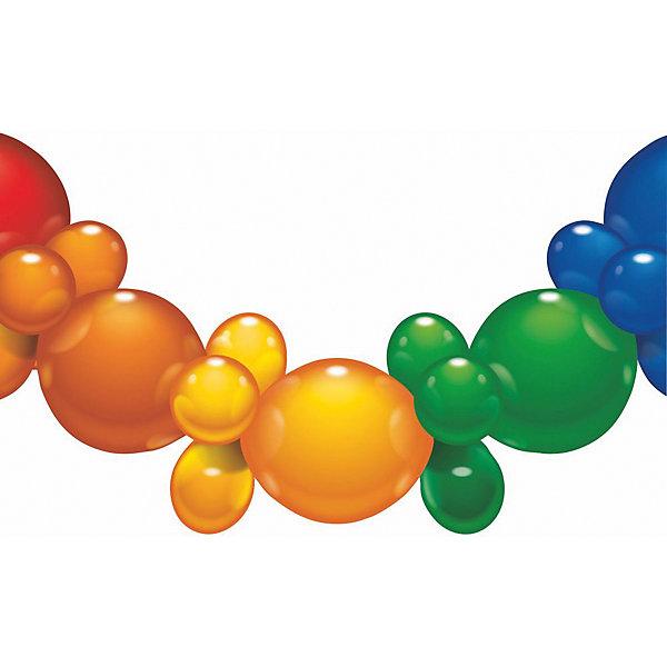 Гирлянда из шаров, 1.75 м., 25 шаров, блистерБаннеры и гирлянды для детской вечеринки<br>Характеристики товара:<br><br>• возраст: от 3 лет<br>• цвет: мульти<br>• материал: биоразлагаемый латекс<br>• размер упаковки: 17х21х3 см<br>• длина: 1,75 м<br>• 25 шаров<br>• вес: 80 г<br>• страна бренда: Германия<br>• страна изготовитель: Германия<br><br>Разноцветная гирлянда из шаров добавит ярких красок в интерьер и дополнит атмосферу праздника. <br><br>Она без труда крепится и ею можно украсить стены или окно помещения.<br><br>Изделие произведено из безопасного для детей материала.<br><br>Гирлянду из шаров 1.75 м., 25 шаров, блистер, от бренда Herlitz (Херлиц) можно купить в нашем интернет-магазине.<br>Ширина мм: 8; Глубина мм: 175; Высота мм: 210; Вес г: 81; Возраст от месяцев: 36; Возраст до месяцев: 2147483647; Пол: Унисекс; Возраст: Детский; SKU: 6886474;