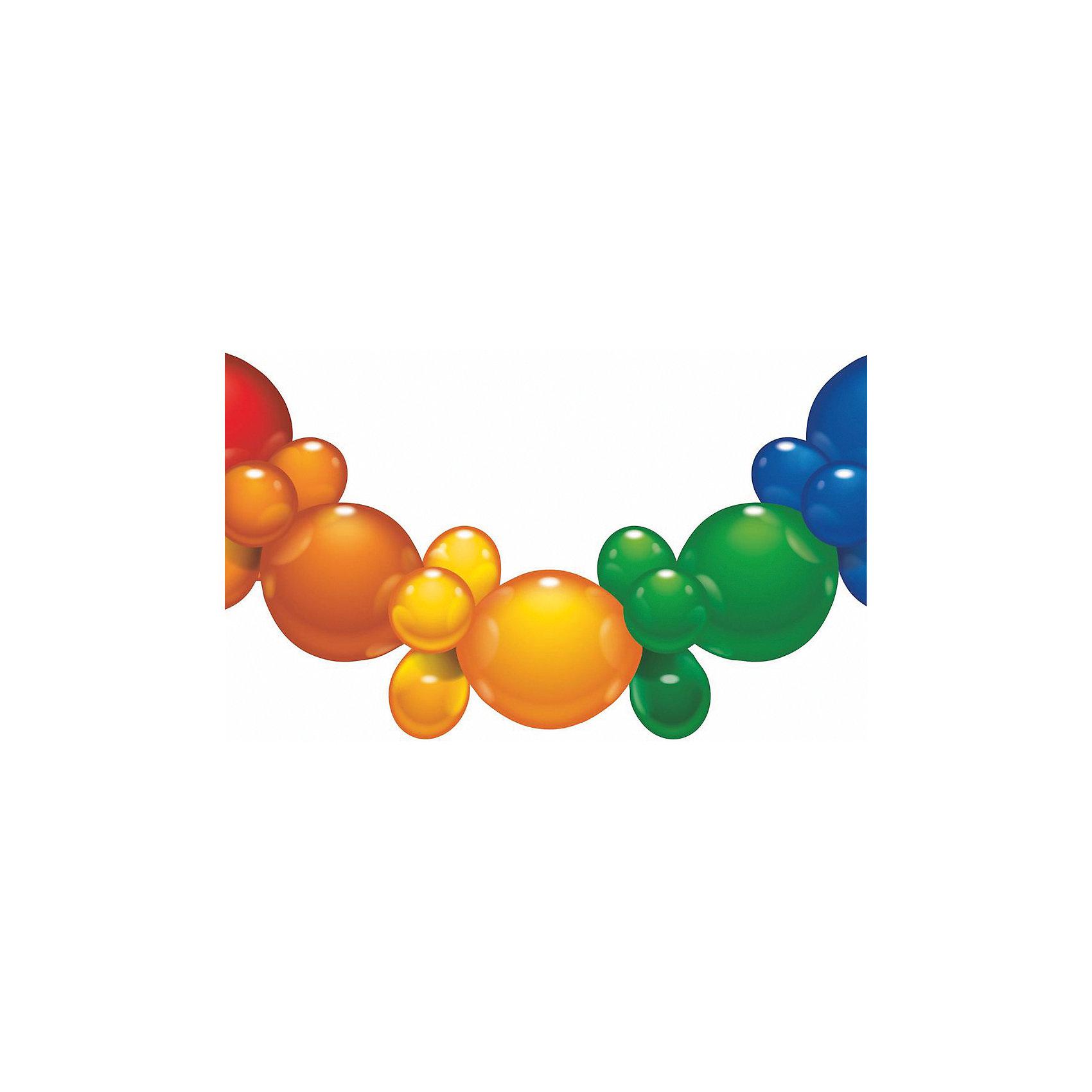 Гирлянда из шаров, 1.75 м., 25 шаров, блистерВсё для праздника<br>Характеристики товара:<br><br>• возраст: от 3 лет<br>• цвет: мульти<br>• материал: биоразлагаемый латекс<br>• размер упаковки: 17х21х3 см<br>• длина: 1,75 м<br>• 25 шаров<br>• вес: 80 г<br>• страна бренда: Германия<br>• страна изготовитель: Германия<br><br>Разноцветная гирлянда из шаров добавит ярких красок в интерьер и дополнит атмосферу праздника. <br><br>Она без труда крепится и ею можно украсить стены или окно помещения.<br><br>Изделие произведено из безопасного для детей материала.<br><br>Гирлянду из шаров 1.75 м., 25 шаров, блистер, от бренда Herlitz (Херлиц) можно купить в нашем интернет-магазине.<br><br>Ширина мм: 8<br>Глубина мм: 175<br>Высота мм: 210<br>Вес г: 81<br>Возраст от месяцев: 36<br>Возраст до месяцев: 2147483647<br>Пол: Унисекс<br>Возраст: Детский<br>SKU: 6886474