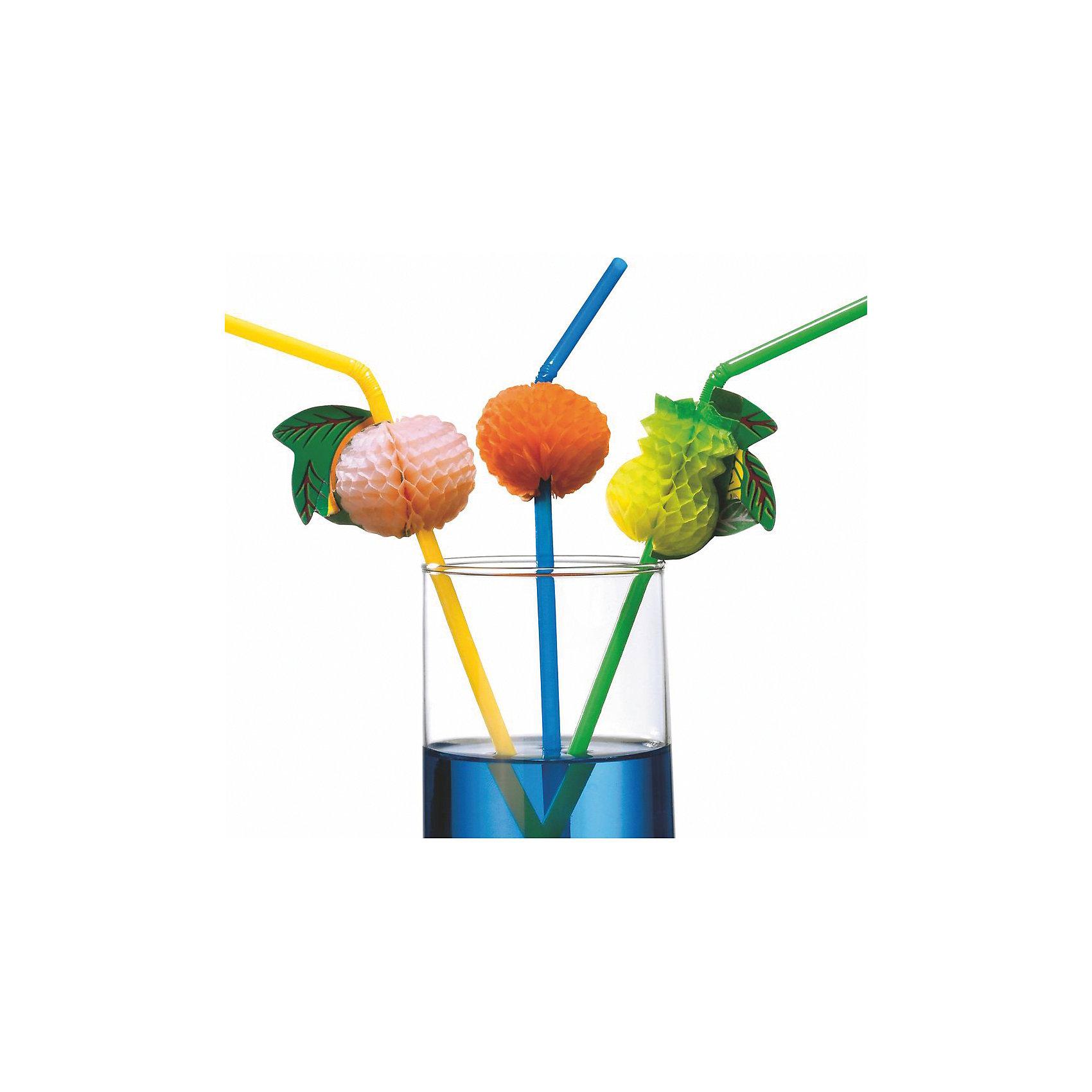 Трубочки для коктейля Фрукты, 24 см, 10 штВсё для праздника<br>Характеристики товара:<br><br>• возраст: от 3 лет<br>• цвет: мульти<br>• материал: полимер<br>• размер упаковки: 10х2х31 см<br>• длина: 25 см<br>• комплектация: 10 шт<br>• вес: 20 г<br>• страна бренда: Германия<br>• страна изготовитель: Германия<br><br>Дети обожают праздники. А если праздник оформлен в ярких цветах - то это незабываемая вечеринка. <br><br>Трубочки для коктейля ярих цветов станут актуальным дополнением праздника. Каждая трубочка имеет свой фрукт-оригами, чтопривлечет внимание девочек и мальчиков.<br><br>Подходят для прохладительных напитков.<br><br>Трубочки для коктейля «Фрукты», 24 см, 10 шт, от бренда Herlitz (Херлиц) можно купить в нашем интернет-магазине.<br><br>Ширина мм: 13<br>Глубина мм: 100<br>Высота мм: 310<br>Вес г: 22<br>Возраст от месяцев: 36<br>Возраст до месяцев: 2147483647<br>Пол: Унисекс<br>Возраст: Детский<br>SKU: 6886477