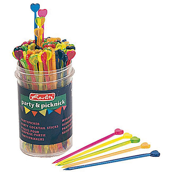 Вилочки для канапе Сердце, 90 шт. пластикАксессуары для детского праздника<br>Характеристики товара:<br><br>• возраст: от 3 лет<br>• цвет: мульти<br>• материал: платсик<br>• размер упаковки: 10х2х31 см<br>• длина: 8,5 см<br>• комплектация: 90 шт<br>• вес: 70 г<br>• страна бренда: Германия<br>• страна изготовитель: Германия<br><br>Дети обожают праздники. А если праздник оформлен в ярких цветах - то это незабываемая вечеринка. <br><br>С разноцветными вилочками для канапе стол с закусками будет выглядеть ярче. Подходят для холодных закусок.<br><br>Изделие произведено из безопасного для детей материала.<br><br>Вилочки для канапе  «Сердце», 90 шт. пластик, от бренда Herlitz (Херлиц) можно купить в нашем интернет-магазине.<br><br>Ширина мм: 50<br>Глубина мм: 50<br>Высота мм: 91<br>Вес г: 70<br>Возраст от месяцев: 36<br>Возраст до месяцев: 2147483647<br>Пол: Унисекс<br>Возраст: Детский<br>SKU: 6886479