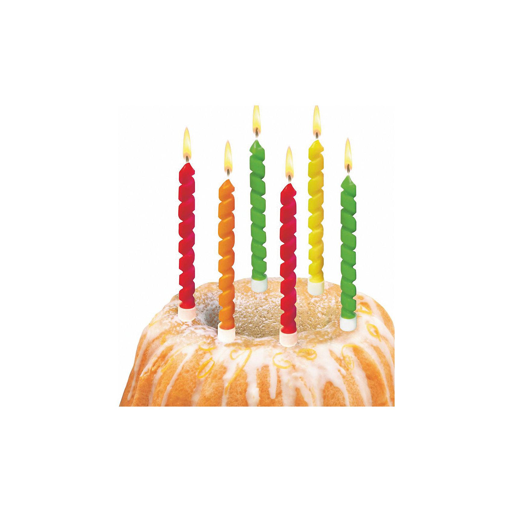 Свечи для торта Twister, 6 шт, блистерДетские свечи для торта<br>Характеристики товара:<br><br>• возраст: от 3 лет<br>• цвет: мульти<br>• размер упаковки: 17х2х20 см<br>• на подсвечниках<br>• комплектация: 6 шт<br>• вес: 50 г<br>• страна бренда: Германия<br>• страна изготовитель: Германия<br><br>Ну что праздник без торта? А что за торт без свечек? Яркие свечи Herlitz для торта создадут атмосферу праздника и подарят массу положительных эмоций.<br><br>Изделие произведено из безопасного для детей материала.<br><br>Свечи для торта «Twister» 6 шт, блистер, от бренда Herlitz (Херлиц) можно купить в нашем интернет-магазине.<br><br>Ширина мм: 17<br>Глубина мм: 90<br>Высота мм: 200<br>Вес г: 50<br>Возраст от месяцев: 36<br>Возраст до месяцев: 2147483647<br>Пол: Унисекс<br>Возраст: Детский<br>SKU: 6886484