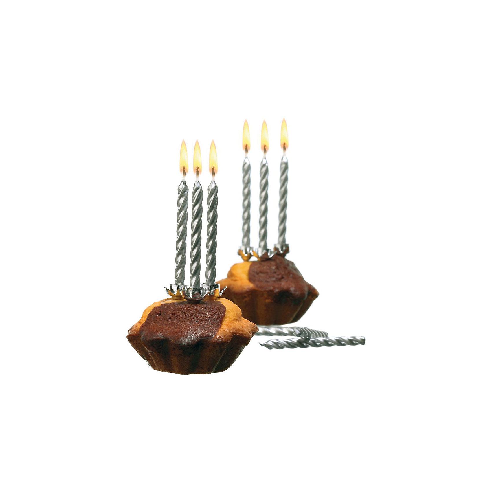 Свечи для торта, 10 шт, 10 подсвечн., серебро, парафинДетские свечи для торта<br>Характеристики товара:<br><br>• возраст: от 3 лет<br>• цвет: серебро<br>• размер упаковки: 17х2х20 см<br>• на подсвечниках<br>• комплектация: 10 шт<br>• вес: 50 г<br>• страна бренда: Германия<br>• страна изготовитель: Германия<br><br>Ну что за праздник без торта? А что за торт без свечек? Свечи Herlitz для торта создадут атмосферу праздника и подарят массу положительных эмоций.<br><br>Изделие произведено из безопасного для детей материала.<br><br>Свечи для торта, 10 шт, 10 подсвечн., серебро, парафин, от бренда Herlitz (Херлиц) можно купить в нашем интернет-магазине.<br><br>Ширина мм: 17<br>Глубина мм: 90<br>Высота мм: 200<br>Вес г: 43<br>Возраст от месяцев: 36<br>Возраст до месяцев: 2147483647<br>Пол: Унисекс<br>Возраст: Детский<br>SKU: 6886486