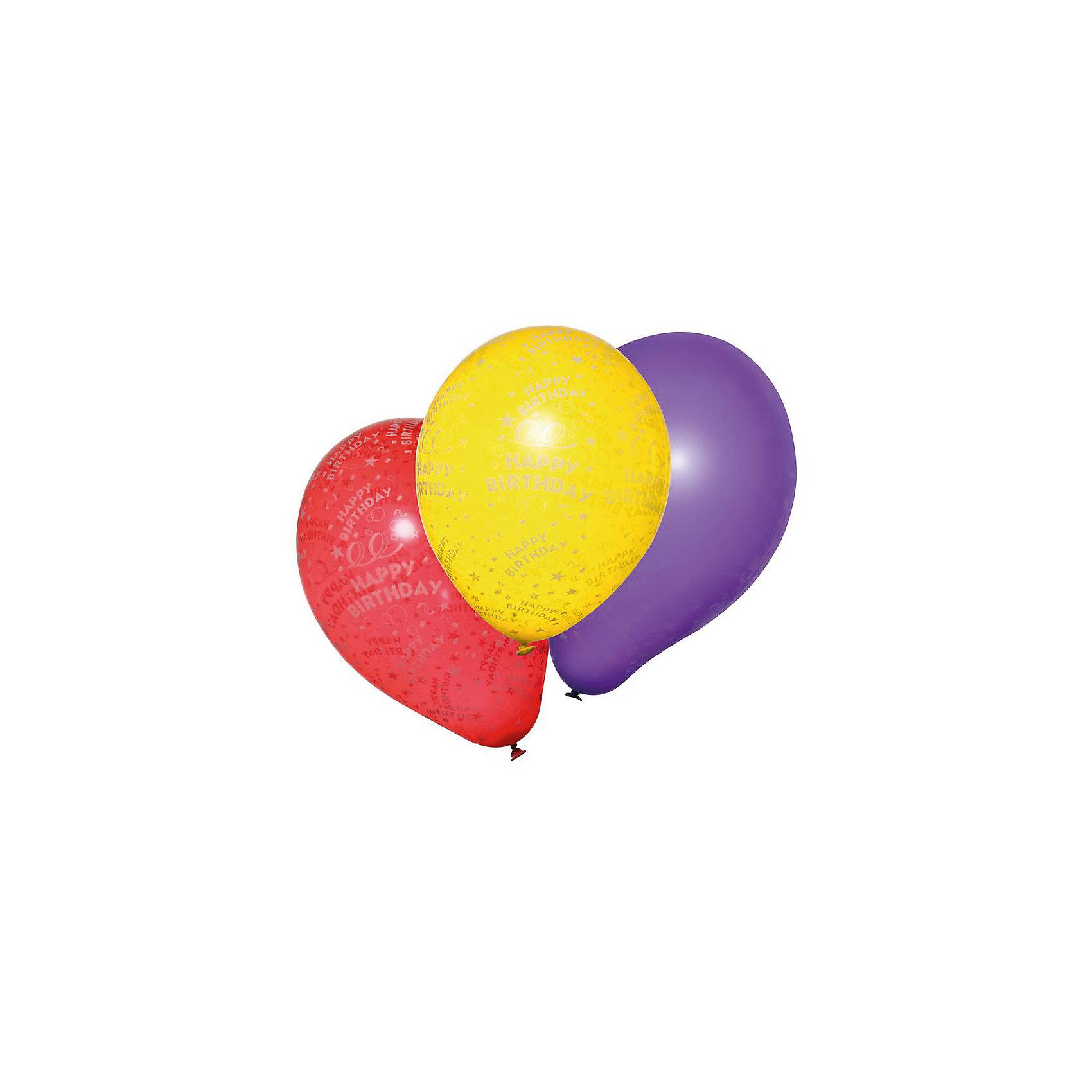 Шары воздушные  Happy Birthday, 10 штВсё для праздника<br>Характеристики товара:<br><br>• возраст: от 3 лет<br>• цвет: мульти<br>• материал: биоразлагаемый латекс<br>• размер упаковки: 3х13х20 см<br>•  для надувания гелием или воздухом<br>• комплектация: 100 шт<br>• вес: 50 г<br>• страна бренда: Германия<br>• страна изготовитель: Германия<br><br>Воздушные шары с поздравлением С ДНЕМ РОЖДЕНИЯ! добавят красок во время вечеринки. <br><br>Изделие произведено из безопасного для детей материала.<br><br>Шары воздушные «Happy Birthday», 10 шт., от бренда Herlitz (Херлиц) можно купить в нашем интернет-магазине.<br><br>Ширина мм: 15<br>Глубина мм: 128<br>Высота мм: 200<br>Вес г: 32<br>Возраст от месяцев: 36<br>Возраст до месяцев: 2147483647<br>Пол: Унисекс<br>Возраст: Детский<br>SKU: 6886493