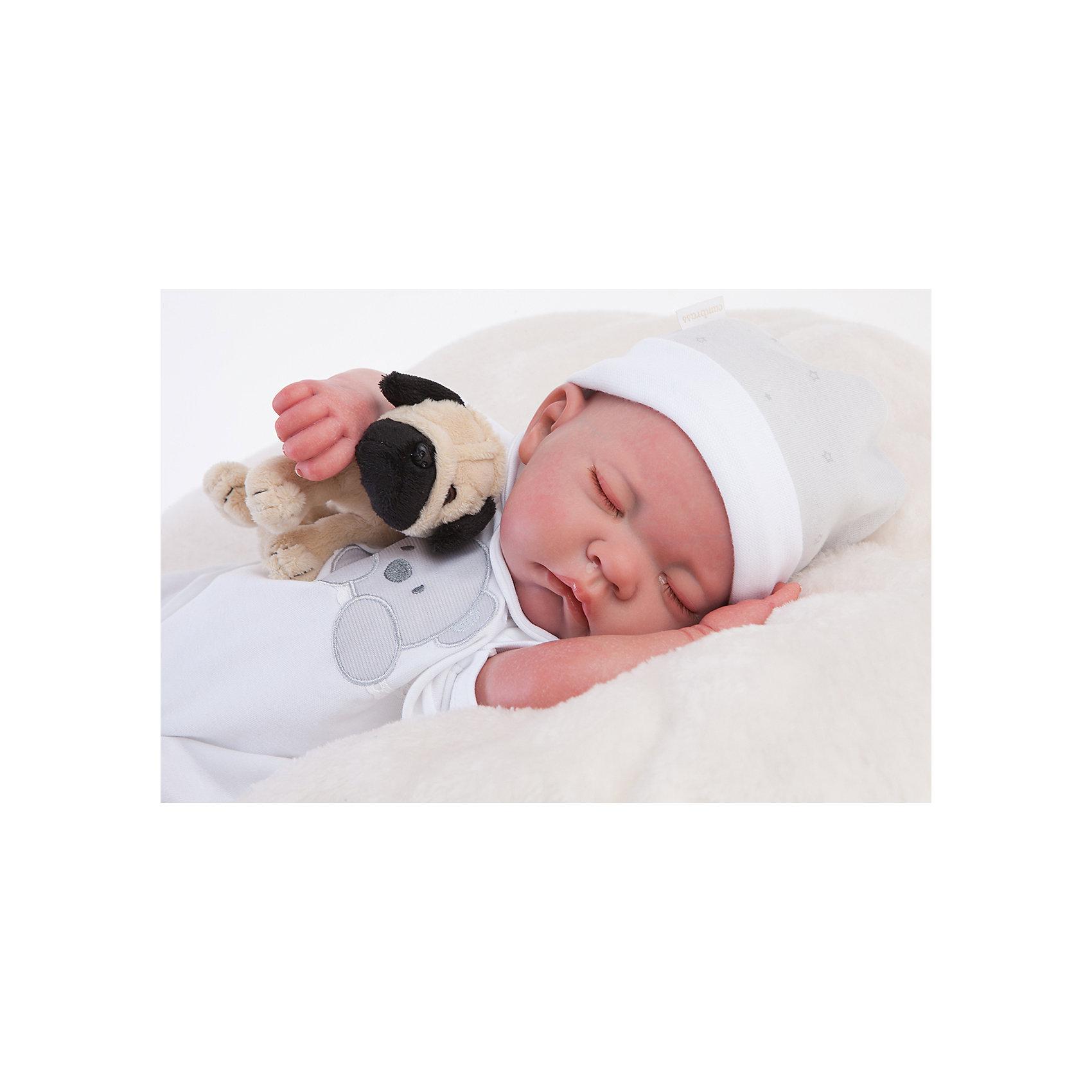 Кукла Реборн младенец Рамон, спящий, 40см, Munecas Antonio JuanКлассические куклы<br><br><br>Ширина мм: 200<br>Глубина мм: 280<br>Высота мм: 550<br>Вес г: 3650<br>Возраст от месяцев: 36<br>Возраст до месяцев: 2147483647<br>Пол: Женский<br>Возраст: Детский<br>SKU: 6886592