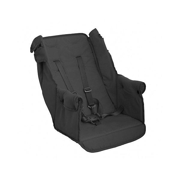 Второе сидение Caboose Too seat, Joovy, черныйАксессуары для колясок<br>Заднее сиденье Joovy Caboose Rear Seat (Джуви  Кабуз Риал Сит) предназначено для моделей колясок Caboose Graphite, Caboose Ultralight Graphite, Big Caboose Graphite. Этот аксессуар превращает вашу коляску в полноценную коляску для двойни.  Можно использовать для детей от 6 месяцев до 2,5 лет. Кроме того, заднее сиденье Caboose не нужно снимать при складывании коляски.<br><br>Ширина мм: 440<br>Глубина мм: 80<br>Высота мм: 410<br>Вес г: 3500<br>Возраст от месяцев: 0<br>Возраст до месяцев: 36<br>Пол: Унисекс<br>Возраст: Детский<br>SKU: 6887319