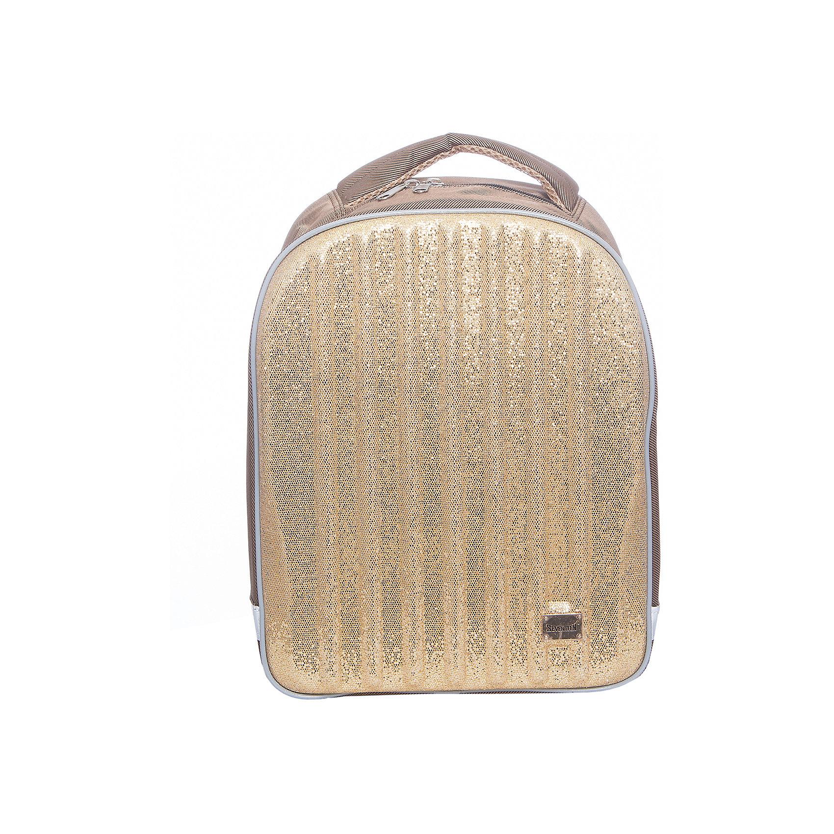Рюкзак Kinderline Seventeen Kids + мешок для обувиРюкзаки<br>Набор школьника: рюкзак, мешок для обуви; упакован в рюкзак.<br>Состав набора:<br>- Рюкзак школьный, с одним отделением; с эргономической спинкой и лямками анатомической формы;<br>- мешок для обуви, затягивающийся шнуром-лямкой.Размер 40 х 33 х 14 см.<br><br>Ширина мм: 150<br>Глубина мм: 280<br>Высота мм: 390<br>Вес г: 650<br>Возраст от месяцев: 72<br>Возраст до месяцев: 2147483647<br>Пол: Женский<br>Возраст: Детский<br>SKU: 6891435