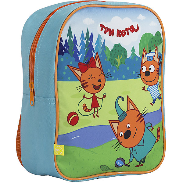 Рюкзак дошкольный Kinderline Три КотаДетские рюкзаки<br>Рюкзак для свободного времени. Состоит из одного отделения, закрывается на молнию. Лямки регулируются по длине. Размер 25 х 20,5 х 10 см.<br><br>Ширина мм: 100<br>Глубина мм: 205<br>Высота мм: 250<br>Вес г: 130<br>Возраст от месяцев: 72<br>Возраст до месяцев: 60<br>Пол: Унисекс<br>Возраст: Детский<br>SKU: 6891443