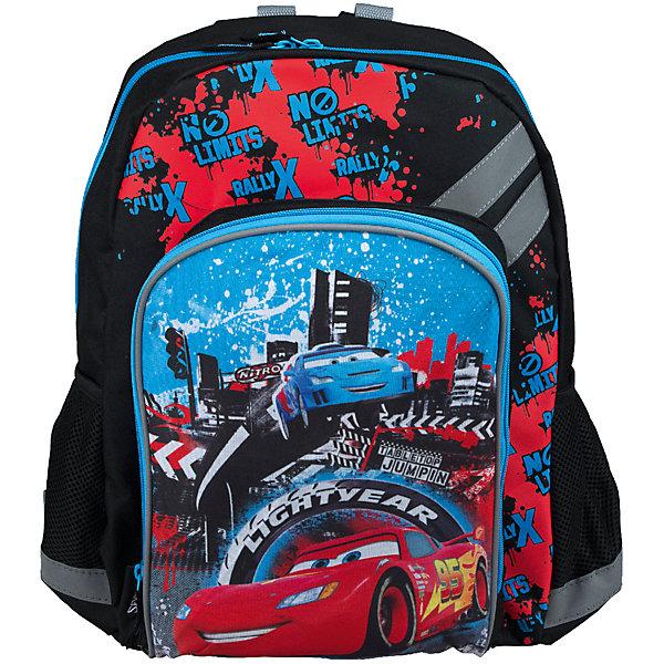 Рюкзак школьный Kinderline CarsТачки<br>Рюкзак, с одним отделением на молнии, фронтальным карманом на молнии и двумя боковыми карманами; внутри отделения - один разделитель и откидное внутреннее дно; мягкая спинка выполнена из поролона обтянутого воздухообменной сеткой; лямки анатомической S-образной формы обтянуты воздухообменной сеткой, регулируются по длине; для безопасности рюкзак снабжен светоотражающими элементами. Размер 40 х 30 х 13 см.<br>Ширина мм: 130; Глубина мм: 300; Высота мм: 400; Вес г: 546; Возраст от месяцев: 72; Возраст до месяцев: 2147483647; Пол: Мужской; Возраст: Детский; SKU: 6891447;