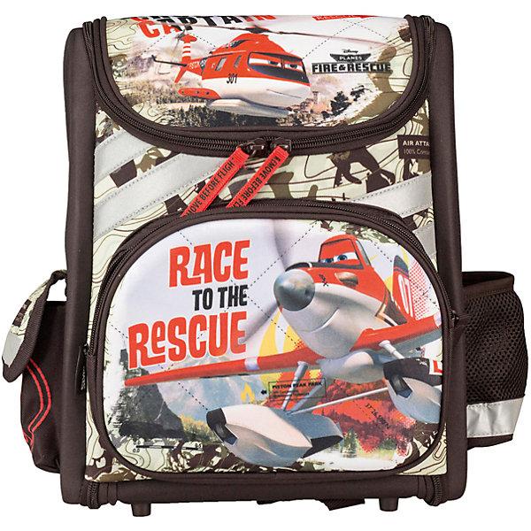 Купить Школьный ранец Kinderline Самолеты, без наполнения, Китай, Мужской