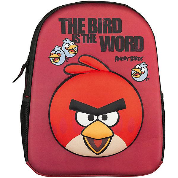 Рюкзак школьный Kinderline Angry BirdsAngry Birds<br>Рюкзак, спинка мягкая, уплотненная поролоном, EVA фронтальная панель. Одно вместительное отделение с двумя карманами с утягивающей резинкой. По бокам расположены карманы из воздухообменного материала. Дно рюкзака мягкое, лямки S-образной формы с поролоном и воздухообменным сетчатым материалом, регулируются по длине. Рюкзак оснащен текстильной ручкой Размер 36 х 28 х 12 см.<br>Ширина мм: 120; Глубина мм: 280; Высота мм: 360; Вес г: 400; Возраст от месяцев: 72; Возраст до месяцев: 120; Пол: Унисекс; Возраст: Детский; SKU: 6891455;