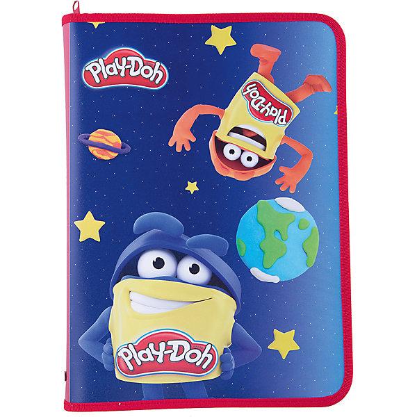 Play-Doh Папка д/тетрадей Размер  33 x 23,5 x 3 см.Папки для тетрадей<br>Характеристики товара:<br><br>• размер: 33х23,5х3 см;<br>• застегивается на молнию;<br>• возраст: от 3-х лет;<br>• материал: пластик;<br>• толщина пластика: 0,5 см;<br>• вес: 100 грамм;<br>• страна: Китай.<br><br>Папка Play-Doh предназначена для хранения и транспортировки тетрадей, канцелярских принадлежностей и других предметов.<br><br>Папка изготовлена из износостойкого пластика. С трех сторон есть молния.<br><br>Лицевая сторона оформлена красочным изображением Play-Doh.<br><br>Play-Doh (Плей До) Папку д/тетрадей Размер  33 x 23,5 x 3 см можно купить в нашем интернет-магазине.<br>Ширина мм: 330; Глубина мм: 235; Высота мм: 30; Вес г: 100; Возраст от месяцев: 36; Возраст до месяцев: 72; Пол: Унисекс; Возраст: Детский; SKU: 6892443;