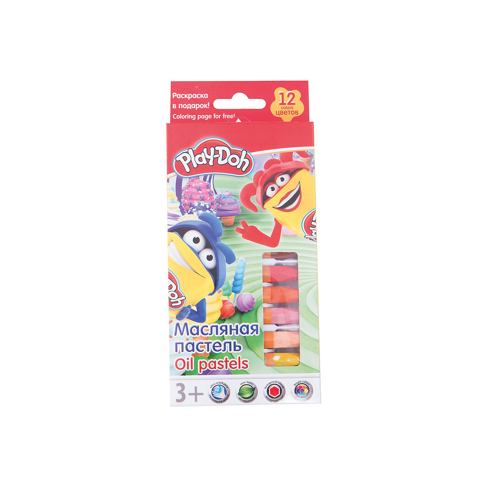 Play-Doh Масляная пастель 12 цветов в картонной коробке + 2 раскраски Размер 19,8 х 8,8 х 1,8 см.Масляные и восковые мелки<br>Характеристики товара:<br><br>• в комплекте: 12 мелков, 2 раскраски;<br>• размер мелка: 7,2х1,1 см;<br>• возраст: от 3-х лет;<br>• размер упаковки: 1,8х8,8х19,8 см;<br>• вес: 135 грамм;<br>• страна: Китай.<br><br>С масляной пастелью ребенок создаст яркие и красивые рисунки, которые станут украшением любого дома. В комплект входят 12 мелков и 2 раскраски.<br><br>Мелки имеет обертку, чтобы ребенок не испачкался во время рисования.<br><br>Пастель хорошо ложится на поверхность, оставляя мягкие штрихи.<br><br>Play-Doh (Плей До) Масляную пастель 12 цветов в картонной коробке + 2 раскраски Размер 19,8 х 8,8 х 1,8 см можно купить в нашем интернет-магазине.<br><br>Ширина мм: 198<br>Глубина мм: 88<br>Высота мм: 18<br>Вес г: 135<br>Возраст от месяцев: 36<br>Возраст до месяцев: 72<br>Пол: Унисекс<br>Возраст: Детский<br>SKU: 6892444