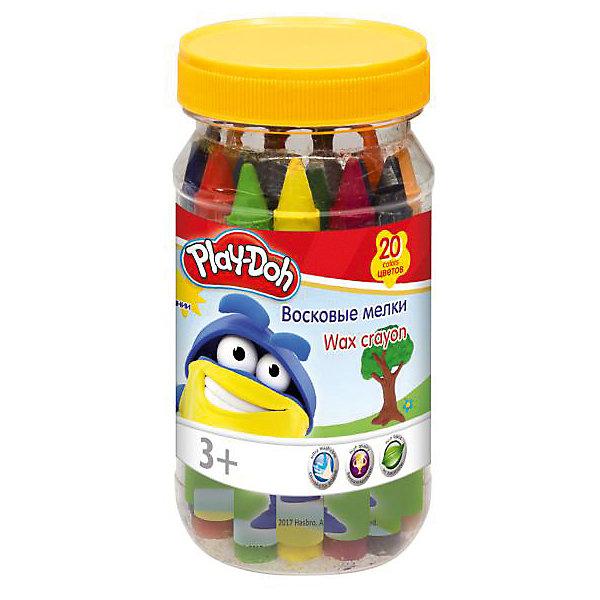 Play-Doh Набор восковых мелков 20 шт, в банке. Размер 12,5 х 6 х 6 см.Масляные и восковые мелки<br>Характеристики товара:<br><br>• в комплекте: 20 мелков;<br>• количество цветов: 20;<br>• возраст: от 3-х лет;<br>• размер упаковки: 6х6х12,5см;<br>• вес: 245 грамм;<br>• страна: Китай.<br><br>Набор восковых мелков Play-Doh - настоящий подарок для маленьких художников. В набор входят 20 мелков яркого цвета. <br><br>Мелок оставляет мягкие штрихи равномерного цвета на любой поверхности. Каждый мелок имеет обертку, чтобы ребенок не испачкался во время рисования.<br><br>Play-Doh (Плей До) Набор восковых мелков 20 шт, в банке. Размер 12,5 х 6 х 6 см можно купить в нашем интернет-магазине.<br><br>Ширина мм: 125<br>Глубина мм: 60<br>Высота мм: 60<br>Вес г: 245<br>Возраст от месяцев: 36<br>Возраст до месяцев: 72<br>Пол: Унисекс<br>Возраст: Детский<br>SKU: 6892446