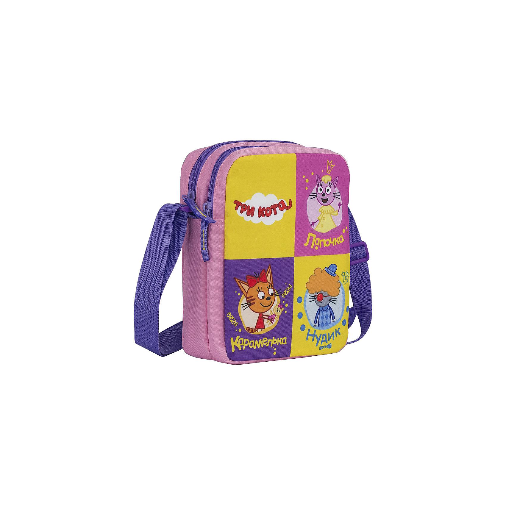 Сумка детская Kinderline Три котаДетские сумки<br>Сумка. Малая, с плечевым ремнем. Состоит из одного вместительного отделения на молнии. Плечевой ремень свободно регулируется по длине. Обеспечивая комфорт при ношении. Компактная и функциональная сумка будет незаменима на прогулке или в путешествии. Размер 22 х 18 х 7 см.<br><br>Ширина мм: 220<br>Глубина мм: 180<br>Высота мм: 70<br>Вес г: 128<br>Возраст от месяцев: 36<br>Возраст до месяцев: 2147483647<br>Пол: Унисекс<br>Возраст: Детский<br>SKU: 6892447