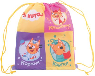 Мешок для обуви Kinderline Три кота