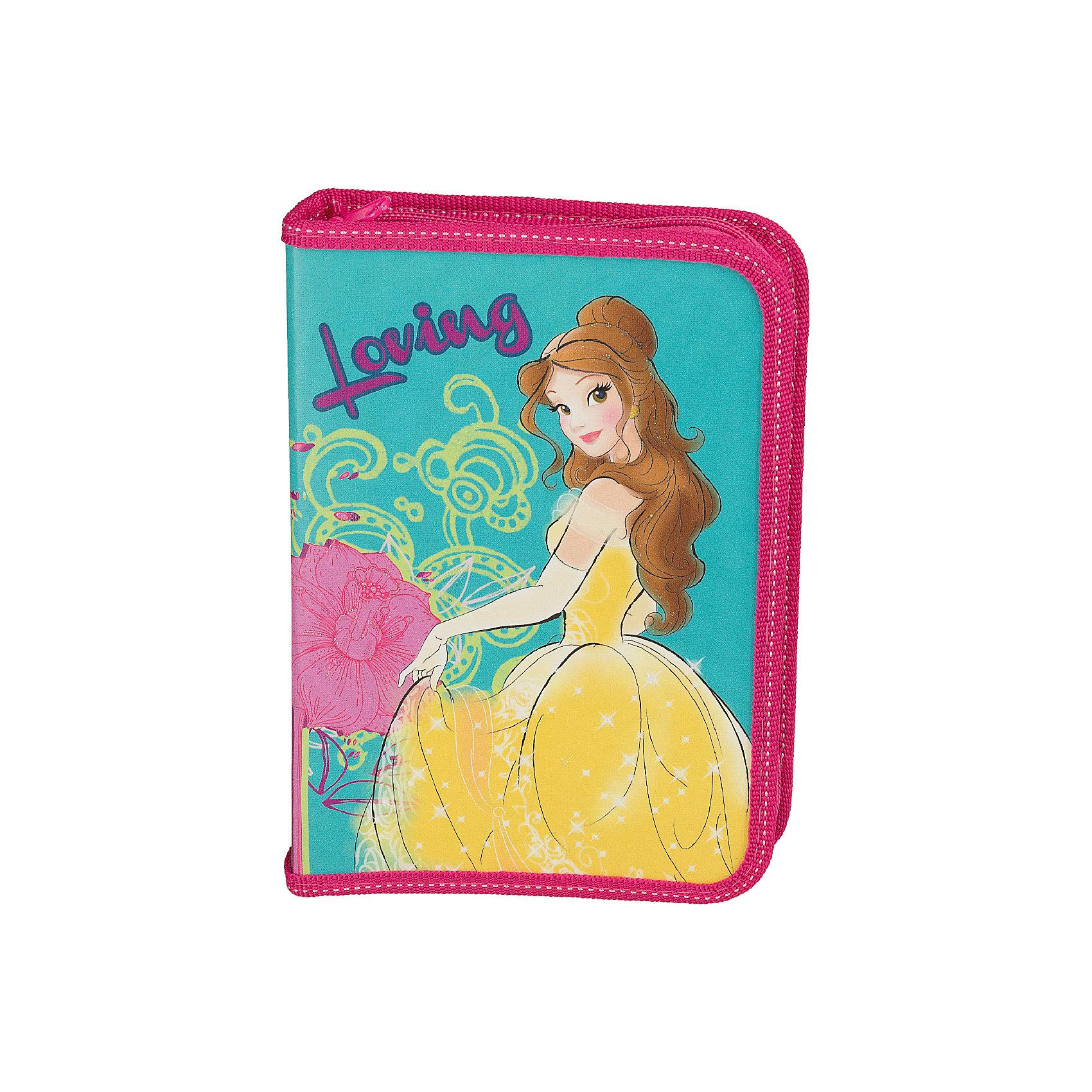 Пенал жесткий Kinderline Disney Princess Бель, без наполненияПеналы без наполнения<br>Характеристики товара:<br><br>• дополнительный клапан;<br>• удобные крепления;<br>• размер: 20,5х14х3,5 см;<br>• возраст: от 5 лет;<br>• вес: 230 грамм;<br>• страна: Китай.<br><br>Пенал Princess изготовлен из прочного износостойкого материала. Пенал имеет одно отделение, застегивающееся с помощью молнии.<br><br>Внутри пенала есть откидной клапан и крепления для канцелярских принадлежностей. Лицевая сторона оформлена изображением принцессы Белль.<br><br>Princess Пенал жесткий ламинированный с клапаном Размер 20,5 х 14 х 3,5 см. можно купить в нашем интернет-магазине.<br><br>Ширина мм: 205<br>Глубина мм: 140<br>Высота мм: 35<br>Вес г: 160<br>Возраст от месяцев: 48<br>Возраст до месяцев: 2147483647<br>Пол: Женский<br>Возраст: Детский<br>SKU: 6892457