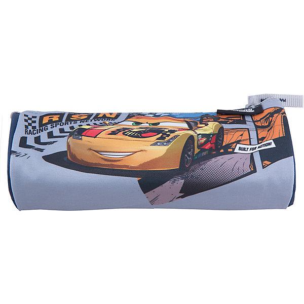 Пенал-тубус Kinderline ТачкиТачки<br>Характеристики товара:<br><br>• одно отделение;<br>• застежка-молния;<br>• размер: 7х21х7 см;<br>• возраст: от 5 лет;<br>• вес: 55 грамм;<br>• страна: Китай.<br><br>Пенал-тубус Cars имеет одно отделение с молнией.  Пенал изготовлен из износостойкого материала. Поверхность пенала декорирована изображением персонажа мультфильма «Тачки».<br><br>Cars (Тачки) Пенал-тубус.  Размер 7 х 21 х 7 см можно купить в нашем интернет-магазине.<br><br>Ширина мм: 70<br>Глубина мм: 210<br>Высота мм: 70<br>Вес г: 55<br>Возраст от месяцев: 48<br>Возраст до месяцев: 2147483647<br>Пол: Мужской<br>Возраст: Детский<br>SKU: 6892467