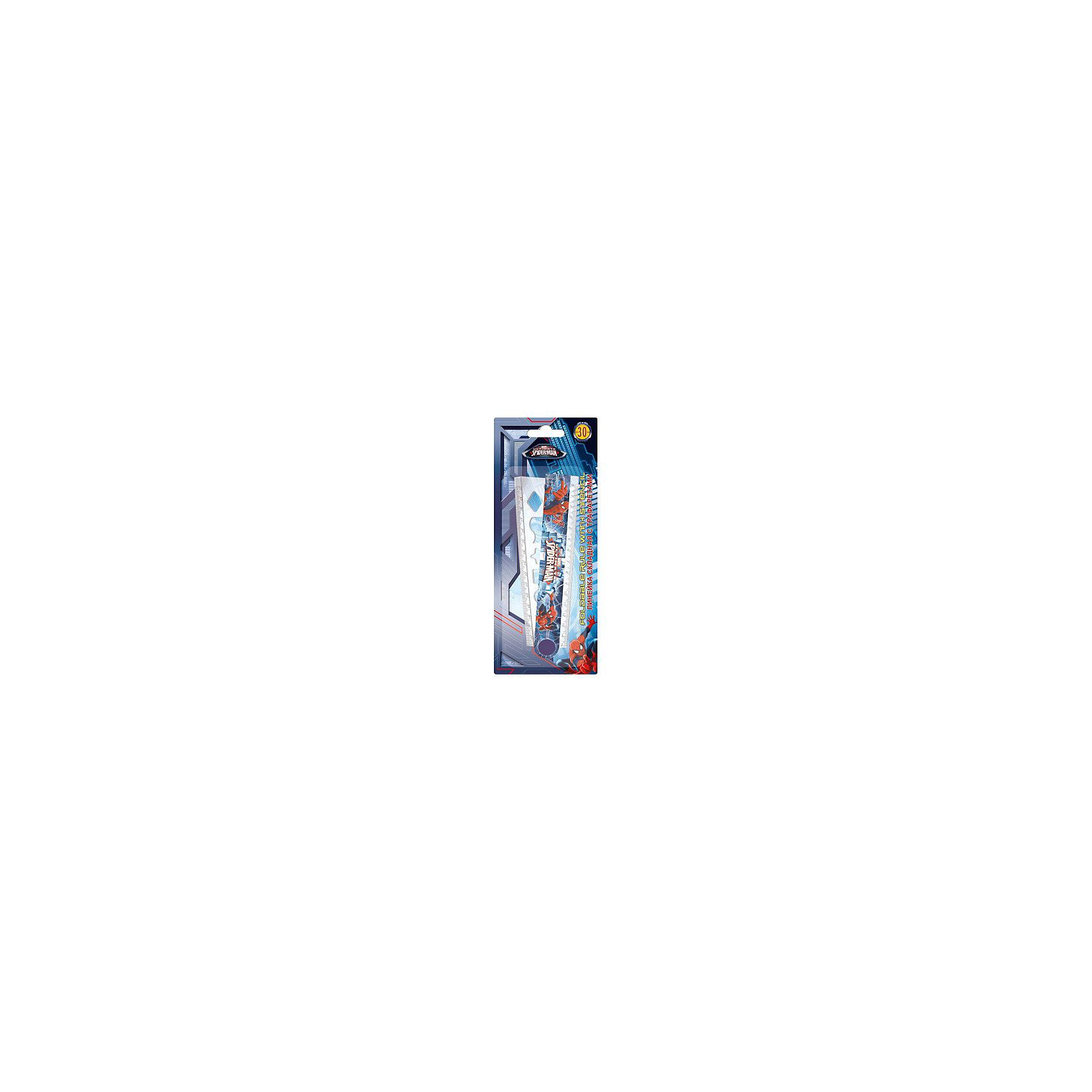 Spider-man Classic Линейка, 30 см. Размер 23,5 х 9,5 х 0,5 см.Чертежные принадлежности<br>Характеристики товара:<br><br>• длина: 30 см;<br>• есть трафарет;<br>• размер упаковки: 23,5х9,5х0,5 см;<br>• возраст: от 3 лет;<br>• вес: 43 грамма;<br>• страна: Китай.<br><br>Spider-man Classic - складная линейка длиной 30 сантиметров. На линейке есть трафарет. Красочная упаковка с изображением Человека-Паука порадует каждого мальчика.<br><br>Spider-man Classic Линейку, 30 см. Размер 23,5 х 9,5 х 0,5 см можно купить в нашем интернет-магазине.<br><br>Ширина мм: 235<br>Глубина мм: 95<br>Высота мм: 5<br>Вес г: 43<br>Возраст от месяцев: 48<br>Возраст до месяцев: 84<br>Пол: Мужской<br>Возраст: Детский<br>SKU: 6892489