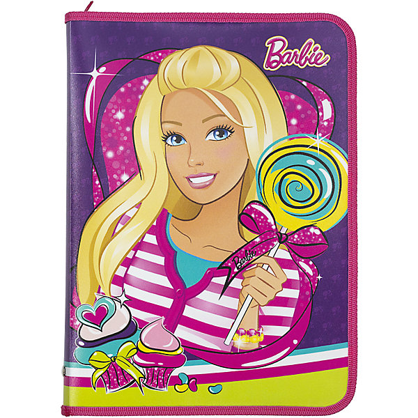 Папка для труда Kinderline BarbieПапки для труда<br>Характеристики товара:<br><br>• одно отделение с откидным клапаном;<br>• есть крепления для  канцелярских принадлежностей;<br>• секция для тетрадей и бумаг формата А4;<br>• размер: 33х23,5х3 см;<br>• материал: полипропилен;<br>• возраст: от 5 лет;<br>• вес: 199 грамм;<br>• страна: Китай.<br><br>Папка для труда поможет ребенку поддерживать порядок в документах, тетрадях и канцелярских принадлежностях. Папка имеет одно основное отделение на молнии. <br><br>Внутри есть откидной клапан с секцией для тетрадей и фиксирующими креплениями для письменных принадлежностей. Папка изготовлена из прочного полипропилена. Лицевая сторона папки и клапана оформлена изображением Барби.<br><br>Barbie (Барби) Папку д/труда Размер  33 x 23,5 x 3 см можно купить в нашем интернет-магазине.<br>Ширина мм: 330; Глубина мм: 235; Высота мм: 30; Вес г: 199; Возраст от месяцев: 72; Возраст до месяцев: 2147483647; Пол: Женский; Возраст: Детский; SKU: 6892493;