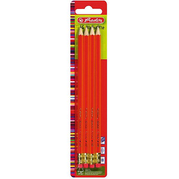 Herlitz Карандаши чернографитные.с ластиком, НВ, 4штЧернографитные<br>Характеристики:<br><br>• возраст: от 3 лет<br>• в наборе: карандаши чернографитные с ластиками 4 шт.<br>• твердость грифеля: НВ<br>• материал корпуса: древесина<br>• упаковка: блистер<br>• размер упаковки: 23,5х4,9х0,8 см.<br><br>Набор чернографитных карандашей с ластиками от Herlitz (Херлиц) отлично подойдет для различных графических или чертежных работ. В набор входят четыре чернографитовых карандаша твердостью HB. Карандаши имеют шестигранный корпус. Легко точатся. Грифель ударопрочный.<br><br>Карандаши изготовлены из древесины, которая сертифицирована независимой международной организацией FSC (Forest Stewardship Council) — Лесным Попечительским советом, что является показателем того, что продукция происходит из леса, в котором ведется экологически и социально ответственное лесное хозяйство.<br><br>Herlitz Карандаши чернографитные.с ластиком, НВ, 4шт можно купить в нашем интернет-магазине.<br><br>Ширина мм: 80<br>Глубина мм: 490<br>Высота мм: 2350<br>Вес г: 0<br>Возраст от месяцев: 36<br>Возраст до месяцев: 2147483647<br>Пол: Унисекс<br>Возраст: Детский<br>SKU: 6892620