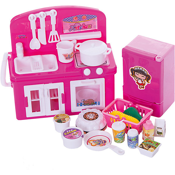 Бытовая техника, YakoИгрушечная бытовая техника<br>Характеристики товара:<br><br>• в комплекте: мини-кухня с мойкой и краном, плита с духовым шкафом, холодильник, муляжи продуктов (сок, молоко, газированная вода, лапша, мороженое, торт, кукуруза, перец), посуда (сковорода, кастрюля, лопатки, ковш);<br>• световые и звуковые эффекты;<br>• материал: пластик;<br>• возраст: от 3-х лет;<br>• батарейки: АА - 4 шт. (не входят в комплект);<br>• размер упаковки: 22х41х9 см;<br>• вес: 845 грамм;<br>• страна бренда: Китай.<br><br>Мини-кухня - прекрасный подарок для начинающих хозяюшек. В комплект входит всё необходимое для приготовления вкусных блюд: мини-кухня с краном и мойкой, плита, холодильник, посуда и муляжи продуктов.<br><br>Для большей реалистичности бытовая техника дополнена модулем со световыми и звуковыми эффектами. Разнообразные аксессуары сделают игру еще интереснее. С набором можно приготовить обед, помыть посуду и научиться правильно складывать продукты в холодильник.<br><br>Для работы необходимы четыре батарейки АА (не входят в комплект).<br><br>Бытовую технику, Yako (Яко) можно купить в нашем интернет-магазине.<br>Ширина мм: 90; Глубина мм: 410; Высота мм: 220; Вес г: 845; Возраст от месяцев: 36; Возраст до месяцев: 2147483647; Пол: Женский; Возраст: Детский; SKU: 6893374;