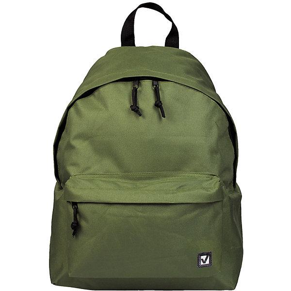 Рюкзак Brauberg Классика зеленый, 20 литровРюкзаки<br>Характеристики товара:<br><br>• объем: 20л;<br>• регулируемые лямки;<br>• материал: рипстоп;<br>• водоотталкивающая ткань;<br>• количество отделений: 1;<br>• 1 внешний карман;<br>• застежка: молния;<br>• возраст: от 15 лет, старшие классы/студенты;<br>• размер: 41х32х14 см;<br>• вес: 370 грамм;<br>• цвет: зеленый;<br>• страна бренда: Германия;<br>• страна изготовитель: Китай.<br><br>Стильный и практичный рюкзак от Brauberg отлично подойдет для активных старшеклассников и студентов. Рюкзак можно использовать как для учебы, так и для прогулок. Рюкзак имеет одно отделение на молнии и внешний объемный карман на молнии. Водоотталкивающий материал защитит содержимое от намокания и загрязнений. Лямки рюкзака можно регулировать. Модель выполнена в классическом зеленом цвете.<br><br>Рюкзак Brauberg (Брауберг) универсальный, сити-формат, один тон, зеленый, 20 литров, 41*32*14 cм можно купить в нашем интернет-магазине.<br><br>Ширина мм: 20<br>Глубина мм: 320<br>Высота мм: 405<br>Вес г: 350<br>Возраст от месяцев: 72<br>Возраст до месяцев: 2147483647<br>Пол: Унисекс<br>Возраст: Детский<br>SKU: 6893775