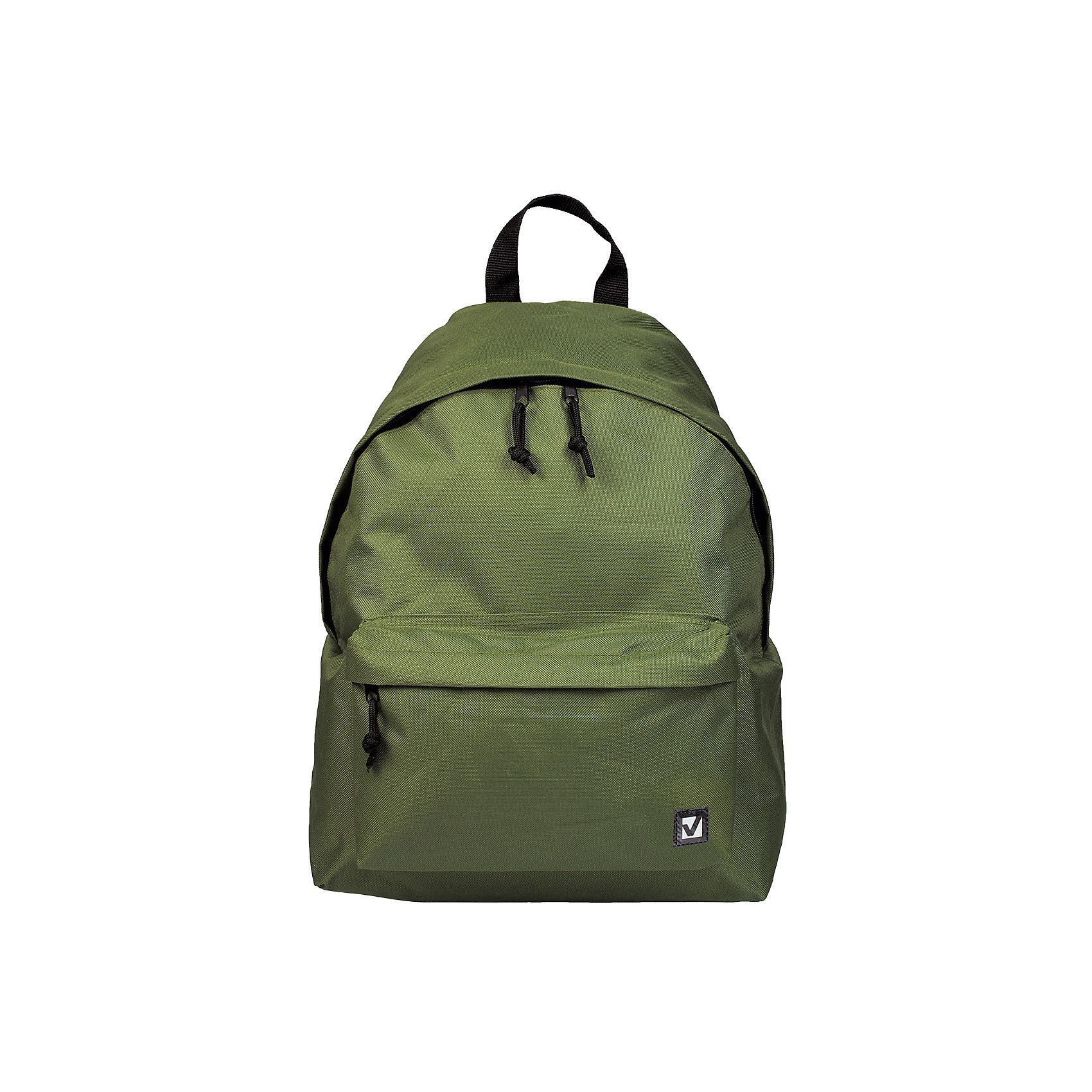 Рюкзак Brauberg Классика зеленый, 20 литровРюкзаки<br>Классический однотонный рюкзак сдержанных расцветок станет незаменимым спутником активной молодежи, которая ценит практичность. Плотная ткань рюкзака обеспечит сохранность содержимого, а вместительное отделение позволит иметь при себе все необходимое.•1 отделение, 1 карман. •Водоотталкивающая ткань. •Широкие регулируемые лямки. •Размер - 41х32х14 см. •Цвет - зеленый. •Объем - 20 литров.<br><br>Ширина мм: 20<br>Глубина мм: 320<br>Высота мм: 405<br>Вес г: 350<br>Возраст от месяцев: 72<br>Возраст до месяцев: 2147483647<br>Пол: Унисекс<br>Возраст: Детский<br>SKU: 6893775