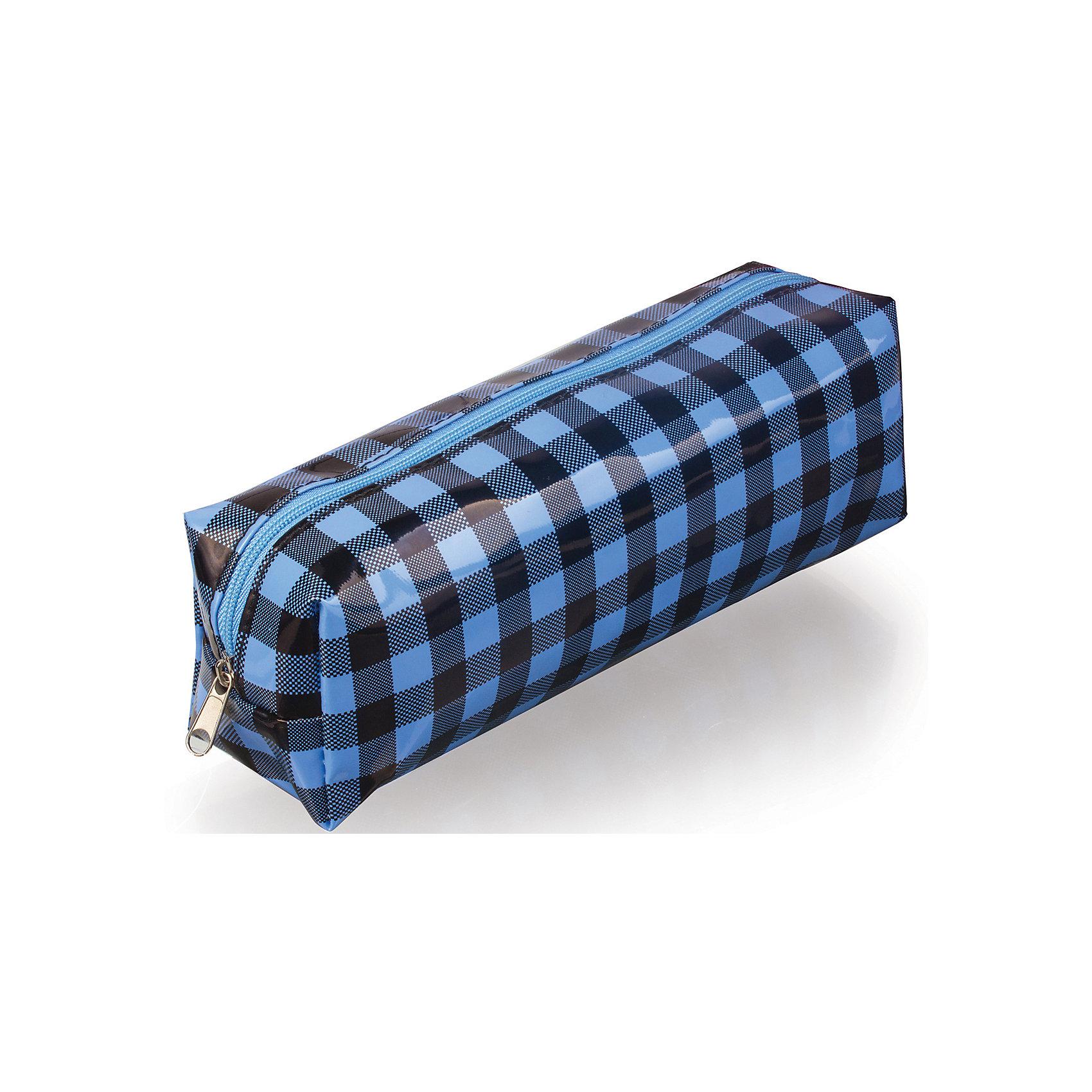 Пенал-косметичка Brauberg КлеткаПеналы без наполнения<br>Удобный, легкий и вместительный пенал-косметичка. Клетка в черно-голубых тонах выглядит оригинально и стильно.•1 отделение. •Материал - ПВХ. •Размер - 20х6х5 см.<br><br>Ширина мм: 70<br>Глубина мм: 210<br>Высота мм: 50<br>Вес г: 41<br>Возраст от месяцев: 72<br>Возраст до месяцев: 2147483647<br>Пол: Унисекс<br>Возраст: Детский<br>SKU: 6893797