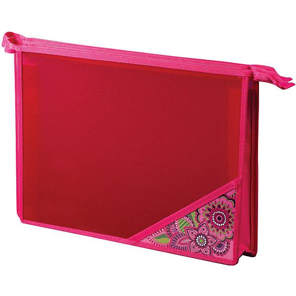 Папка для тетрадей Brauberg МечтаПапки для тетрадей<br>Характеристики товара:<br><br>• количество отделений: 1;<br>• формат: А4;<br>• размер: 33х23 см;<br>• возраст: от 7 лет;<br>• застежка: молния;<br>• материал папки: полипропилен;<br>• материал уголка: ламинированный картон;<br>• цвет: розовый;<br>• вес: 110 грамм;<br>• страна бренда: Германия;<br>• страна изготовитель: Китай.<br><br>Школьная папка «Мечта» предназначена для учащихся начальных классов. Папка имеет одно отделение на молнии по верхнему краю. Папка изготовлена из полипропилена, уголок - из ламинированного картона. Папка выполнена в приятных розовых оттенках с красивым узором.<br><br>Папку для тетрадей Brauberg (Брауберг), А4, пластик, молния сверху, цв.угол, дев., Мечта, 224803 можно купить в нашем интернет-магазине.<br><br>Ширина мм: 390<br>Глубина мм: 230<br>Высота мм: 5<br>Вес г: 108<br>Возраст от месяцев: 72<br>Возраст до месяцев: 2147483647<br>Пол: Женский<br>Возраст: Детский<br>SKU: 6893812