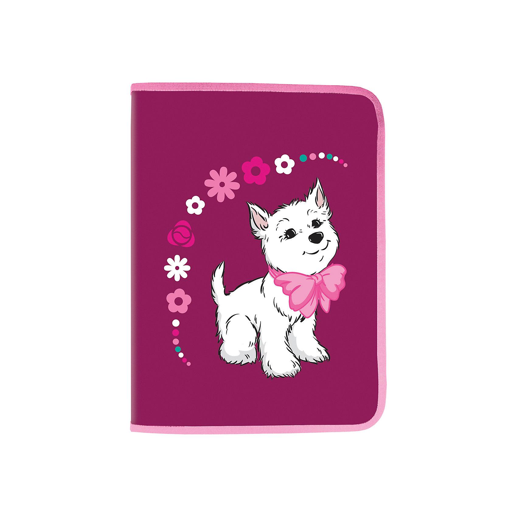 Папка для труда Brauberg ЩенокПапки для труда<br>Папка для труда Щенок предназначена для девочек 7-10 лет. Она выполнена в розово-бордовых тонах и украшена цветочным принтом. Милый щенок, изображенный на ней, без сомнения привлечет внимание юных школьниц.•Формат А4 (330х230 мм). •1 отделение. •Материал-полипропилен. •Вкладыш для принадлежностей. •Застежка - молния с трех сторон.<br><br>Ширина мм: 235<br>Глубина мм: 330<br>Высота мм: 12<br>Вес г: 199<br>Возраст от месяцев: 72<br>Возраст до месяцев: 2147483647<br>Пол: Женский<br>Возраст: Детский<br>SKU: 6893814