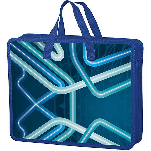 Папка-сумка Brauberg ТехноПапки для дополнительных занятий<br>Характеристики товара:<br><br>• количество отделений: 1;<br>• размер: 33х26 см;<br>• возраст: от 7 лет;<br>• тканевые ручки;<br>• застежка: молния;<br>• материал папки: полиэстер;<br>• цвет: синий;<br>• вес: 164 грамма;<br>• страна бренда: Германия;<br>• страна изготовитель: Китай.<br><br>Папка-сумка предназначена для хранения и переноса бумаг, рисунков и документов. Данная модель имеет одно отделение, застегивающееся на молнию. В верхней части папки есть две текстильные ручки, которые делают папку удобной и практичной. Папка изготовлена из прочного полиэстера. Лицевая сторона выполнена в синем цвете и украшено приятным узором.<br><br>Папку на молнии с ручками Brauberg (Брауберг) А4, мальчик, Техно, 33*26 см, 226477 можно купить в нашем интернет-магазине.<br><br>Ширина мм: 260<br>Глубина мм: 330<br>Высота мм: 10<br>Вес г: 164<br>Возраст от месяцев: 72<br>Возраст до месяцев: 2147483647<br>Пол: Мужской<br>Возраст: Детский<br>SKU: 6893817