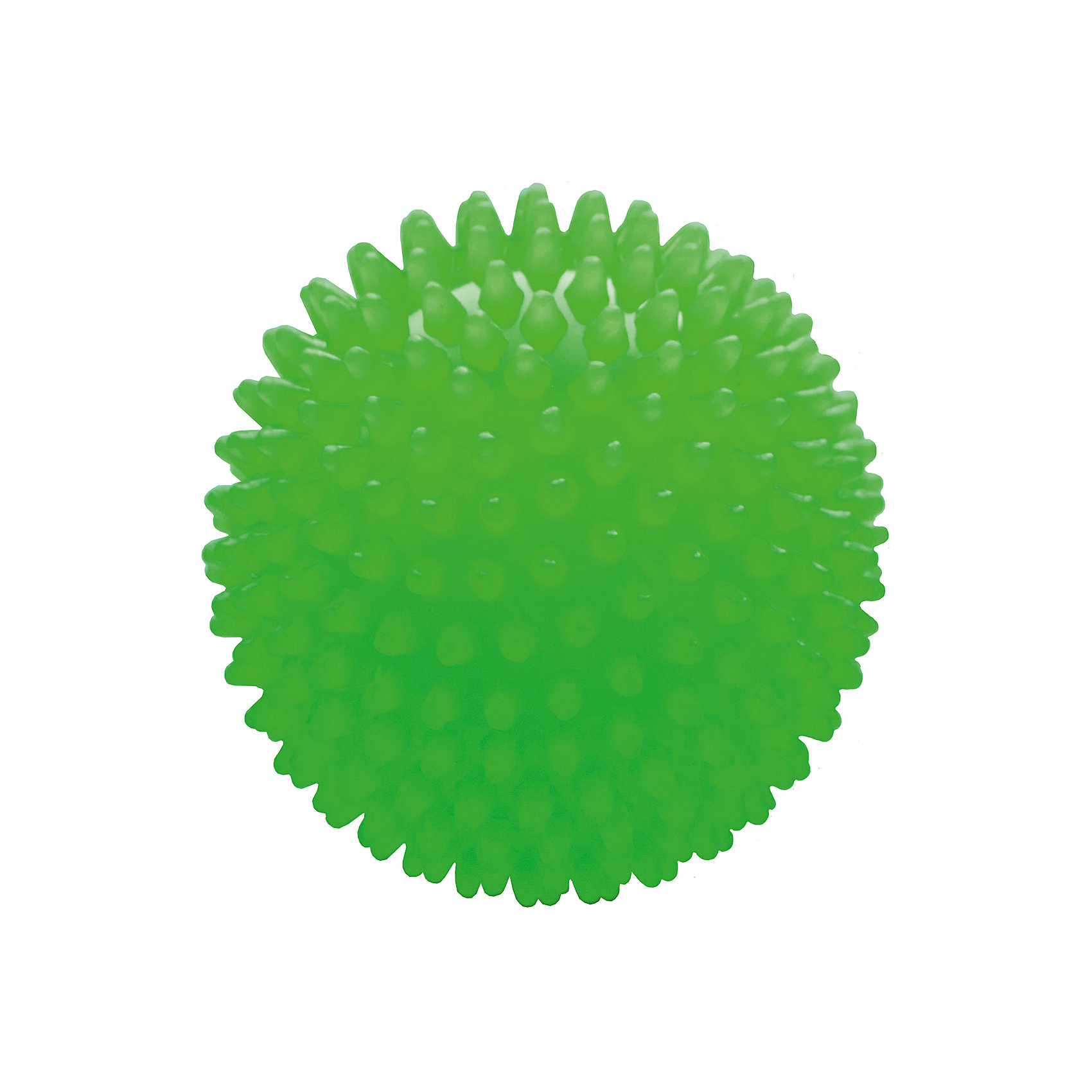Мяч ёжик зеленый, 8,5 см, МалышОКМячи детские<br>Характеристики товара:<br><br>• диаметр мяча: 8,5 см;<br>• материал: ПВХ;<br>• цвет: зеленый;<br>• возраст: от 0 месяцев;<br>• размер упаковки: 9х9х9 см;<br>• вес: 60 грамм;<br>• страна бренда: Россия.<br><br>Яркий мяч ёжик подойдет для игр, развития и купания малыша.<br><br>Занятия благотворно влияют на развитие центральной нервной системы, мускулатуры, а также уменьшают венозный застой и улучшают капиллярный кровоток. Игра способствует развитию тактильных навыков, цветового восприятия, координации движений и мелкой моторики.<br><br>Мяч изготовлен из гипоаллергенного материала.<br><br>Мяч ёжик зеленый, 8,5 см, МалышОК можно купить в нашем интернет-магазине.<br><br>Ширина мм: 90<br>Глубина мм: 90<br>Высота мм: 90<br>Вес г: 60<br>Возраст от месяцев: 6<br>Возраст до месяцев: 2147483647<br>Пол: Унисекс<br>Возраст: Детский<br>SKU: 6894018