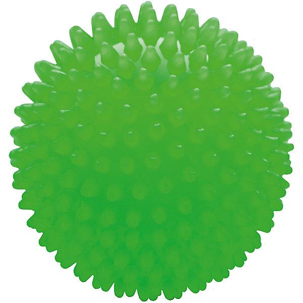 Мяч ёжик зеленый люминесцентный, 8,5 см, МалышОКМячи детские<br>Характеристики товара:<br><br>• диаметр мяча: 8,5 см;<br>• материал: ПВХ;<br>• цвет: люминесцентный;<br>• возраст: от 0 месяцев;<br>• размер упаковки: 9х9х9 см;<br>• вес: 60 грамм;<br>• страна бренда: Россия.<br><br>Яркий мяч ёжик подойдет для игр, развития и купания малыша.<br><br>Занятия благотворно влияют на развитие центральной нервной системы, мускулатуры, а также уменьшают венозный застой и улучшают капиллярный кровоток. Игра способствует развитию тактильных навыков, цветового восприятия, координации движений и мелкой моторики.<br><br>Мяч изготовлен из гипоаллергенного материала.<br><br>Мяч ёжик люминесцентный, 8,5 см, МалышОК можно купить в нашем интернет-магазине.<br>Ширина мм: 90; Глубина мм: 90; Высота мм: 90; Вес г: 60; Возраст от месяцев: 6; Возраст до месяцев: 2147483647; Пол: Унисекс; Возраст: Детский; SKU: 6894020;