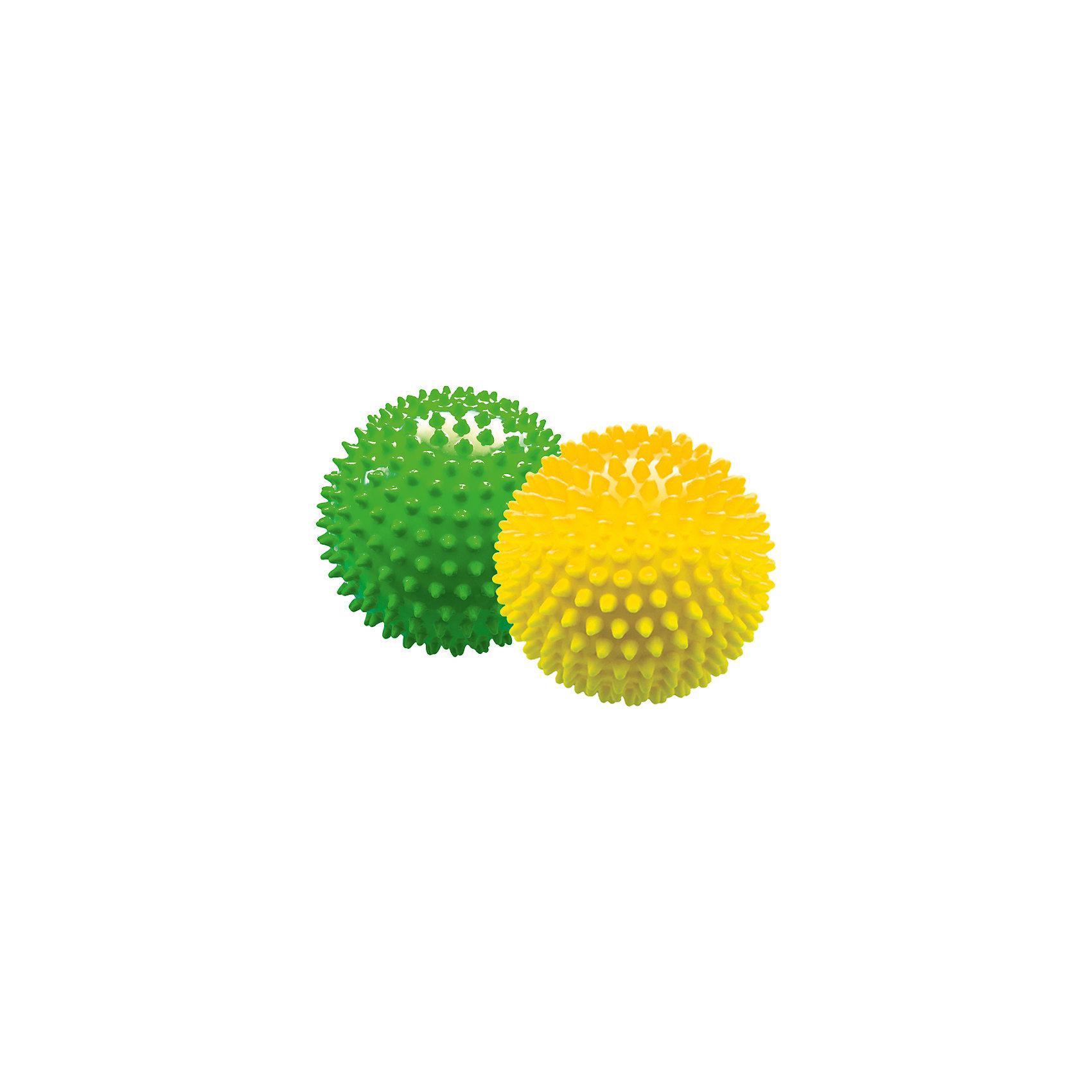 Набор мячей ёжиков, желтый и зеленый, 12 см, МалышОКМячи детские<br><br><br>Ширина мм: 260<br>Глубина мм: 130<br>Высота мм: 130<br>Вес г: 150<br>Возраст от месяцев: 6<br>Возраст до месяцев: 2147483647<br>Пол: Унисекс<br>Возраст: Детский<br>SKU: 6894022