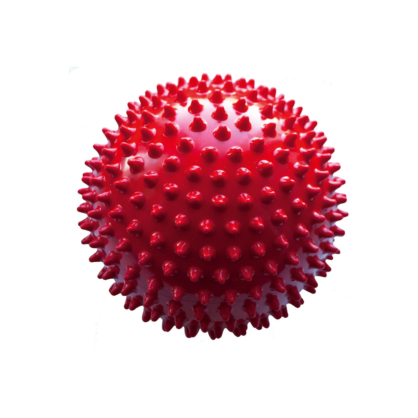 Мяч ёжик красный, 18 см, МалышОКМячи детские<br>Характеристики товара:<br><br>• диаметр мяча: 18 см;<br>• материал: ПВХ;<br>• цвет: красный;<br>• возраст: от 0 месяцев;<br>• размер упаковки: 22,5х18х21 см;<br>• вес: 80 грамм;<br>• страна бренда: Россия.<br><br>Мяч ёжик подходит для игр, массажа и использования в воде. Мягкие шипы мяча массируют кожу малыша, улучшая кровоток, что способствует уменьшению венозного застоя, развитию мускулатуры, центральной и периферической нервной системы.<br><br>Игра с мячом поможет развить моторику рук, тактильные ощущения, координацию, а также цветовое восприятие.<br><br>Мяч изготовлен из гипоаллергенного материала.<br><br>Мяч ёжик красный, 18 см, МалышОК можно купить в нашем интернет-магазине.<br><br>Ширина мм: 210<br>Глубина мм: 180<br>Высота мм: 225<br>Вес г: 80<br>Возраст от месяцев: 6<br>Возраст до месяцев: 2147483647<br>Пол: Унисекс<br>Возраст: Детский<br>SKU: 6894026