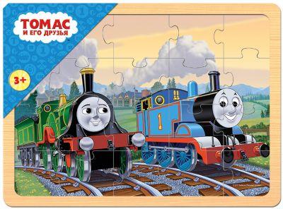 Степ Пазл Игра из дерева Томас и его друзья , Step Puzzle