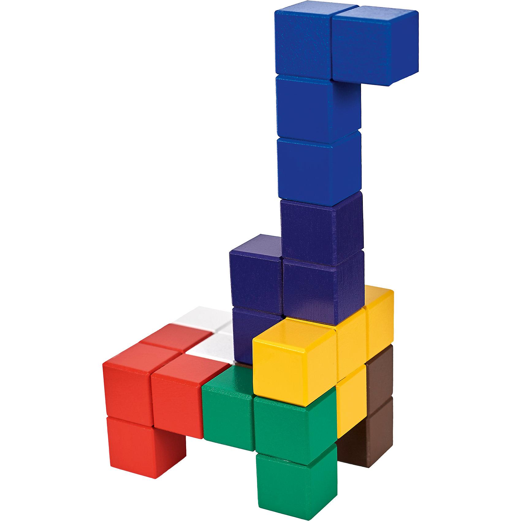 Кубики для всех, (коробка фанера), Световид от myToys