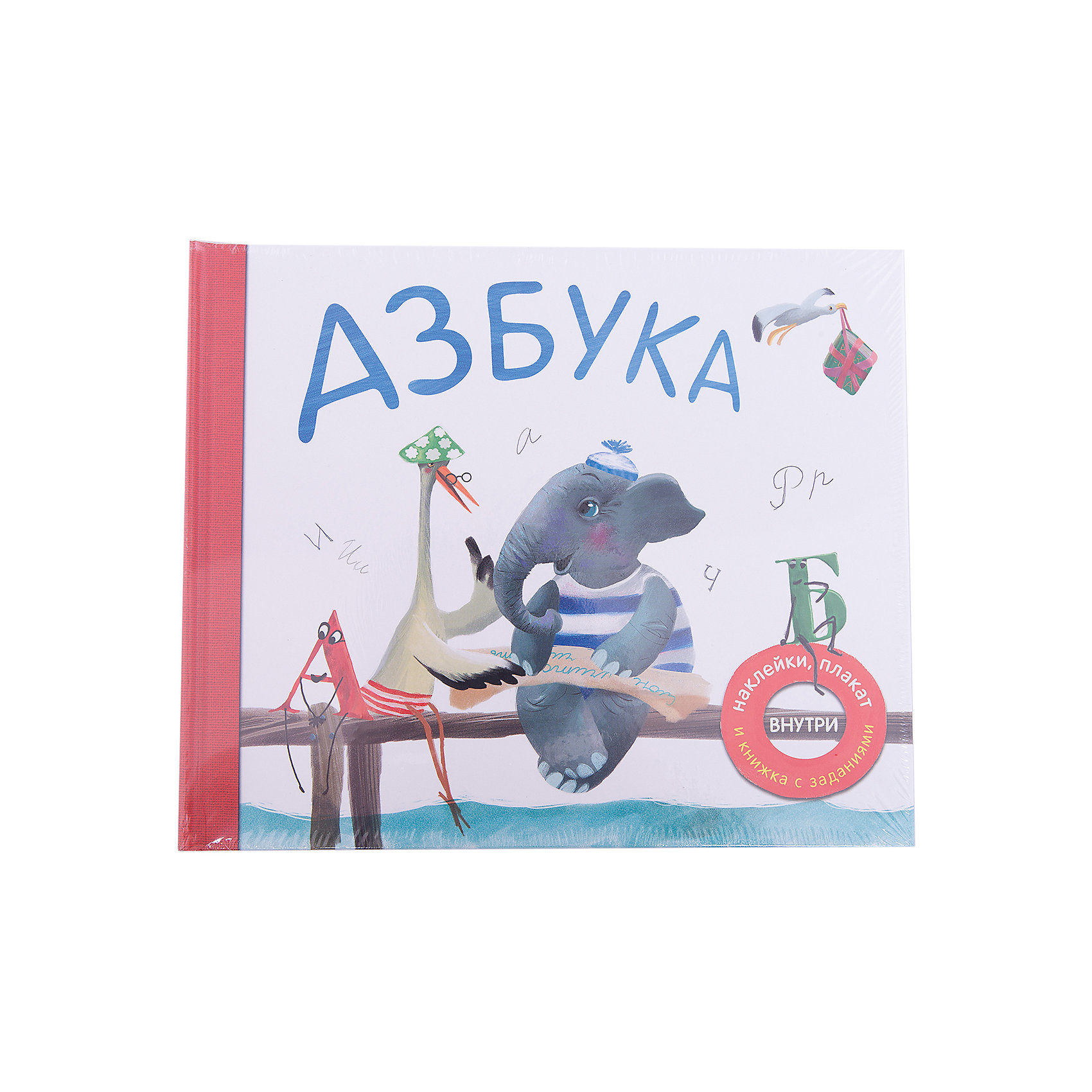 Азбука в стихахАзбуки<br>Характеристики товара:<br><br>• возраст: от 3 лет<br>• авторы идеи: В. Вилюнова, Н. Магай<br>• автор стихов: П. Михайлов<br>• художник: Чайка Лариса Э.<br>• издательство: Мозаика-Синтез, 2016 г.<br>• переплет: полужесткий<br>• оформление: наклейки стикеры, плакат, книжка с заданиями<br>• иллюстрации: цветные<br>• количество страниц: 66<br>• размер: 26,5х22х1,4 см.<br>• вес: 587 гр.<br>• ISBN: 9785431507830<br><br>Эта необычная книга станет отличным подарком для каждого ребенка. Путешествуя по страницам книги вместе со слоником и его веселыми друзьями, ребенок легко выучит все буквы алфавита.<br><br>Каждой букве посвящен отдельный разворот книги. Ребенку будет просто запомнить новую букву благодаря замечательному стихотворению и красочной картинке, которую так интересно рассматривать.<br><br>Стихи в книге необычные, слова в них подобраны таким образом, чтобы новая буква в них повторялась как можно чаще – так ее легче выучить.<br><br>На внутренней стороне обложки ребенка ждет сюрприз – в специальных кармашках он найдет большой плакат с алфавитом и яркими наклейками, и книжку с увлекательными заданиями, которые помогут закрепить полученные знания.<br><br>Книгу «Азбука в стихах» можно купить в нашем интернет-магазине.<br><br>Ширина мм: 14<br>Глубина мм: 265<br>Высота мм: 220<br>Вес г: 587<br>Возраст от месяцев: 36<br>Возраст до месяцев: 84<br>Пол: Унисекс<br>Возраст: Детский<br>SKU: 6896503