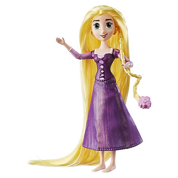 Кукла Hasbro Disney Princess, Рапунцель. Запутанная историяКуклы модели<br>В сериале Рапунцель:Запутанная история неугомонная Рапунцель откладывает свои обязанности принцессы, чтобы отправиться на встречу приключениям! Эта кукла создана по образу героини мультфильма - у нее длинные волосы и аксессуары для создания невероятных причесок. У куклы множество точек артикуляции и наряд в точности как в мультфильме.<br><br>Ширина мм: 285<br>Глубина мм: 177<br>Высота мм: 50<br>Вес г: 166<br>Возраст от месяцев: 36<br>Возраст до месяцев: 72<br>Пол: Женский<br>Возраст: Детский<br>SKU: 6898119